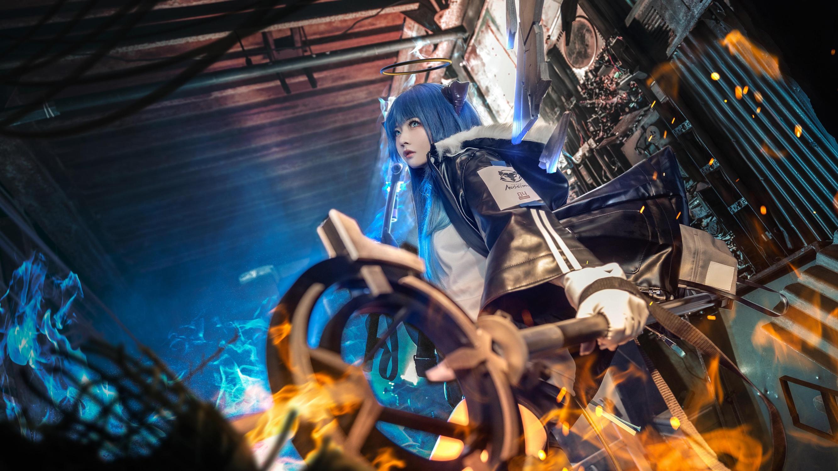 《明日方舟》正片cosplay【CN:roka様】-第2张