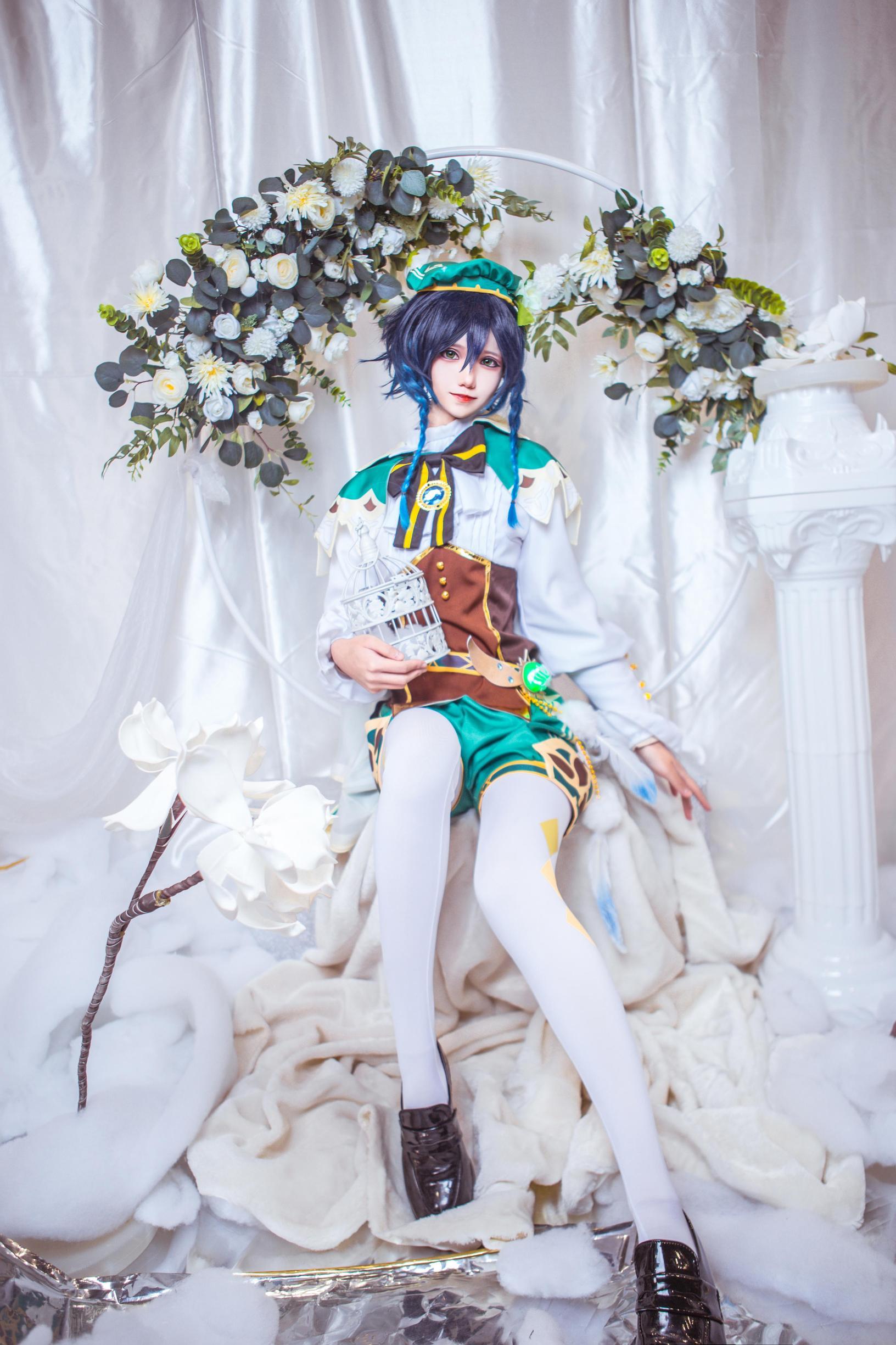 《原神》巴巴托斯cosplay【CN:南千鲤Akirui】-第3张
