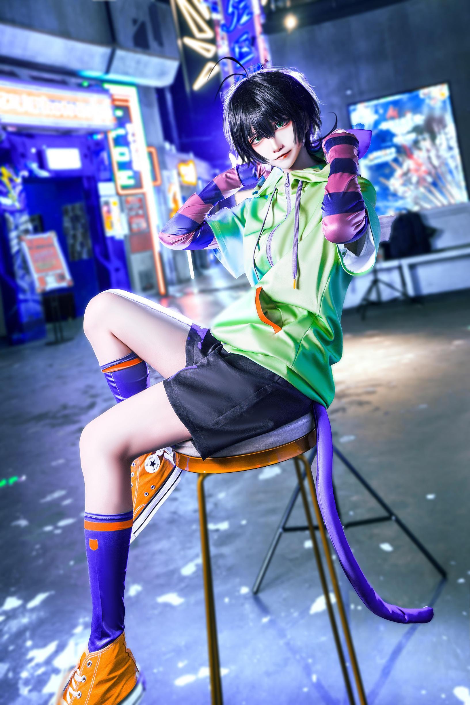 《无限滑板》少年cosplay【CN:南千鲤Akirui】-第7张