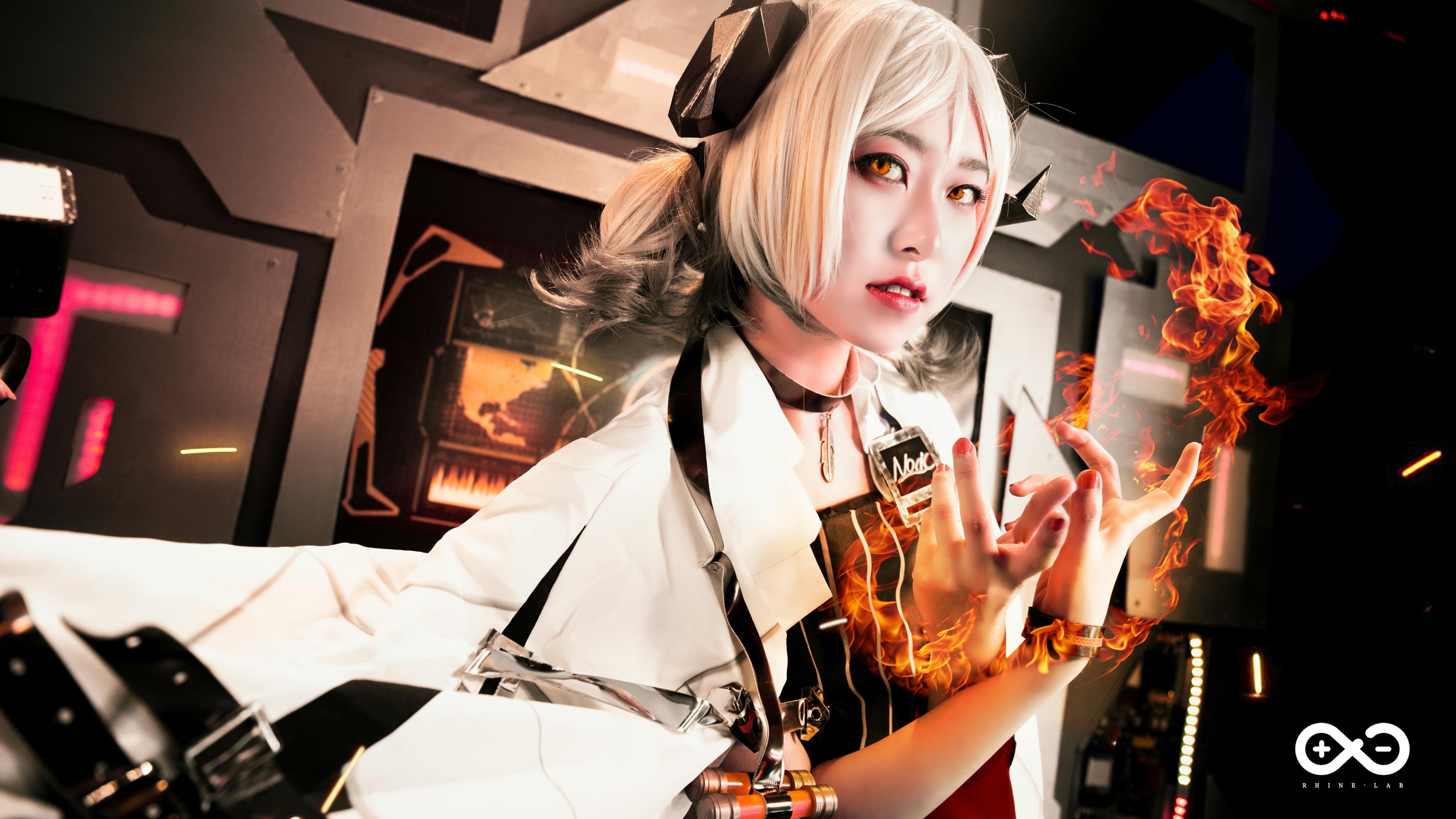 《明日方舟》伊芙利特cosplay【CN:YINGO殷果】-第4张
