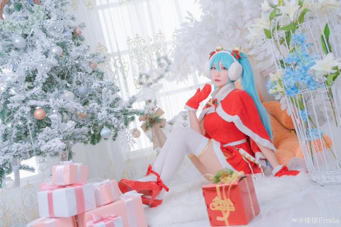 初音未来   圣诞节   @楼银Emilia (9P)-第4张