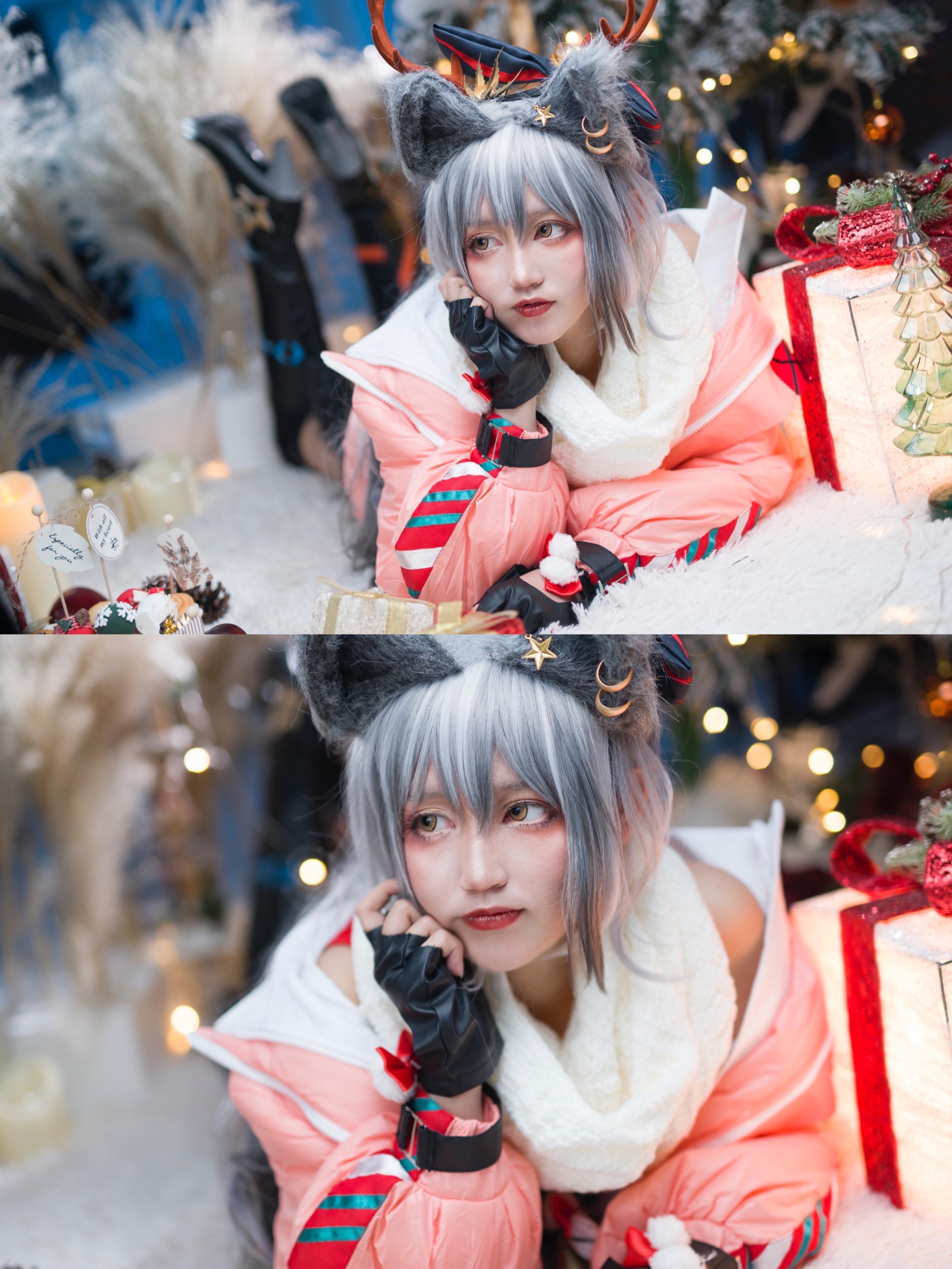 《明日方舟》正片cosplay【CN:阿熊是个萌妹吗_】-第3张