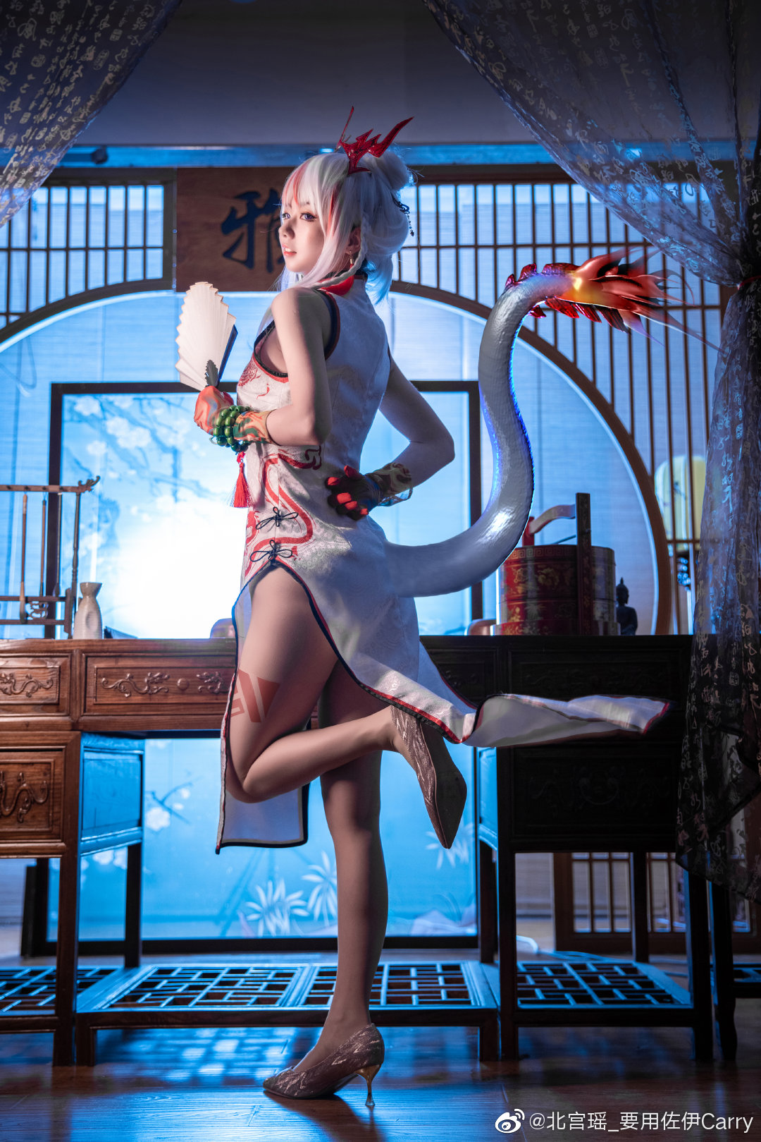[COS]明日方舟   年   @北宫瑶_要用佐伊Carry (9P) -绝对领域cosplay图片插图