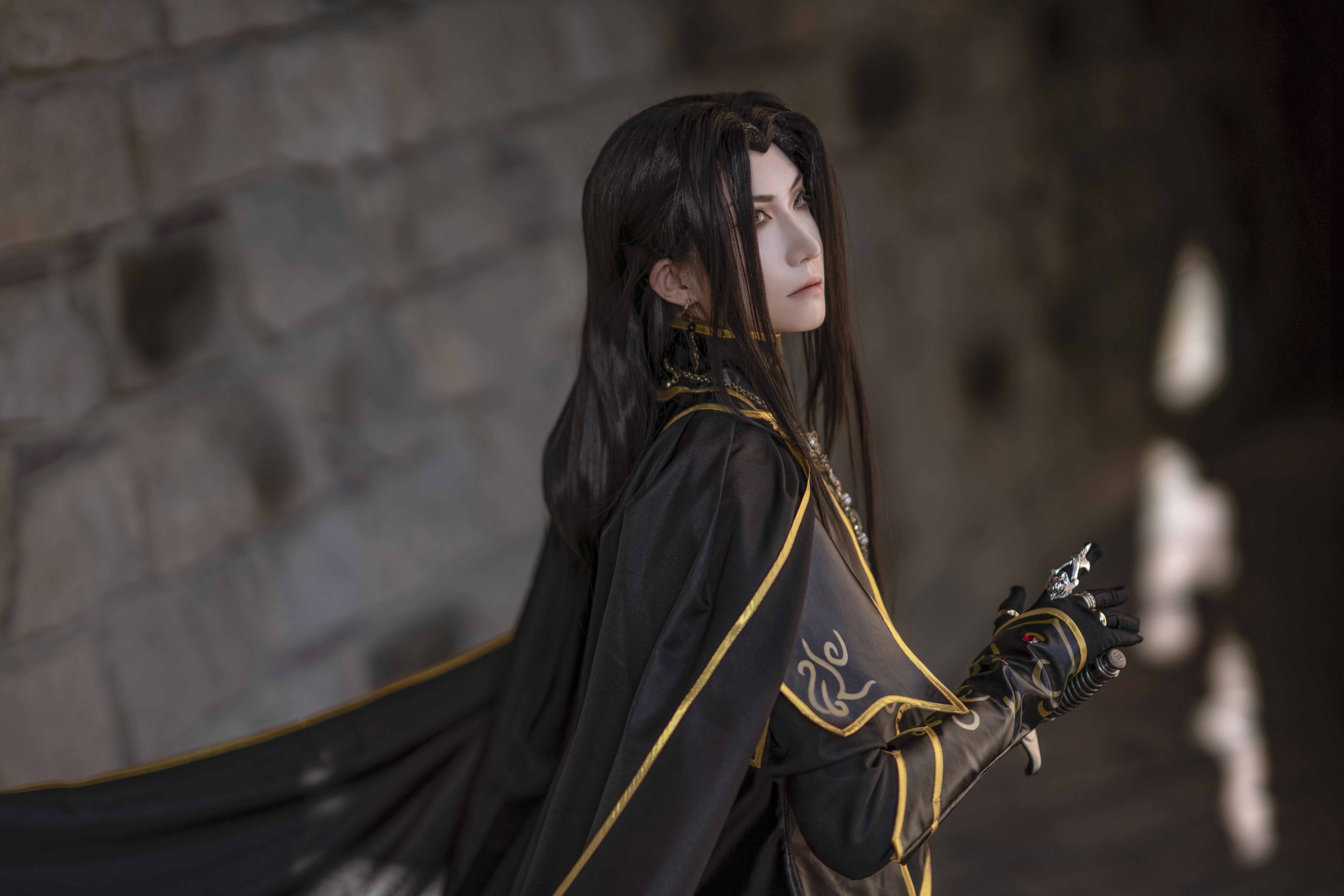 《天神右翼》正片cosplay【CN:斯诺_Yukina】-第16张