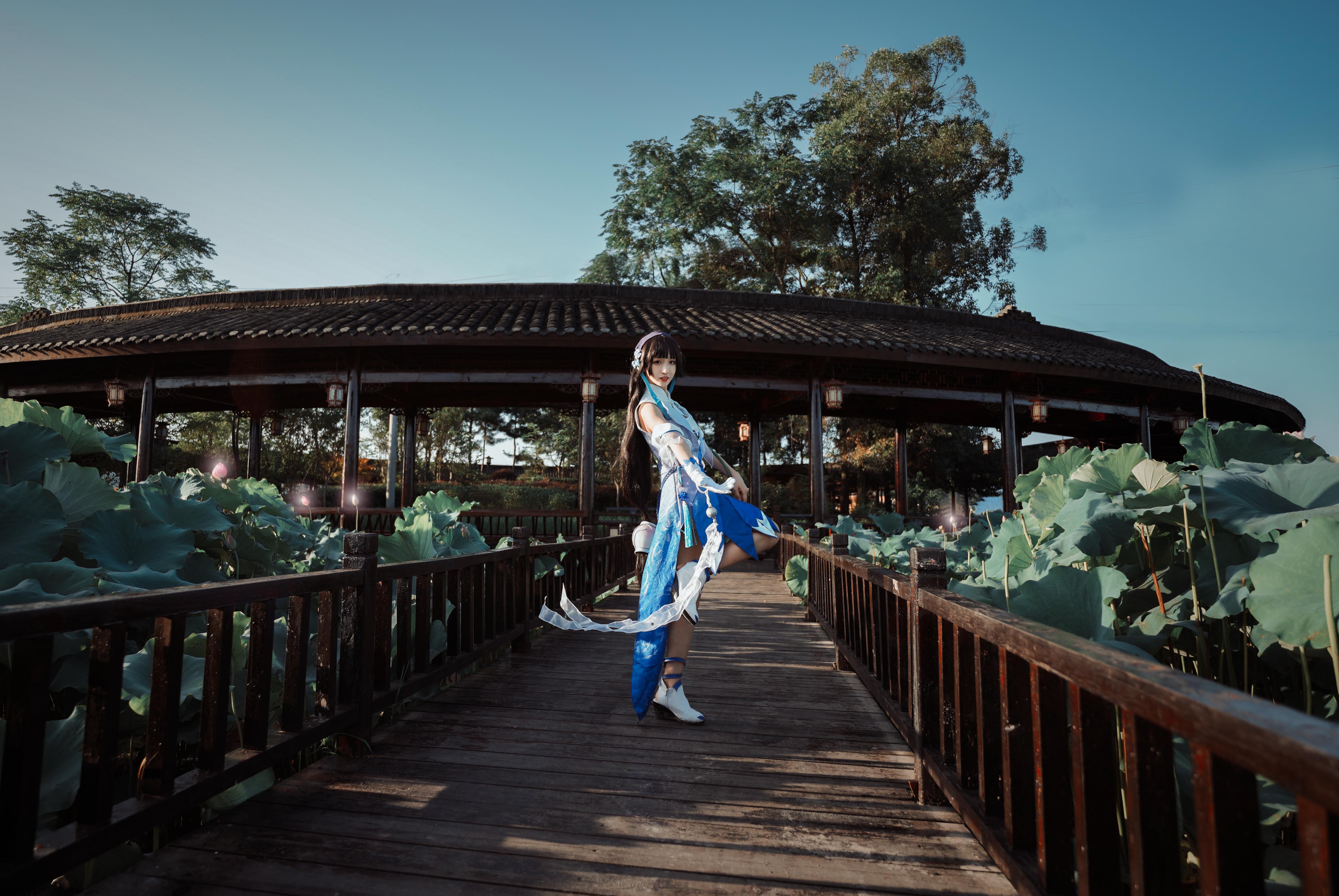 《王者荣耀》王者荣耀西施cosplay【CN:青锦天下】-第4张