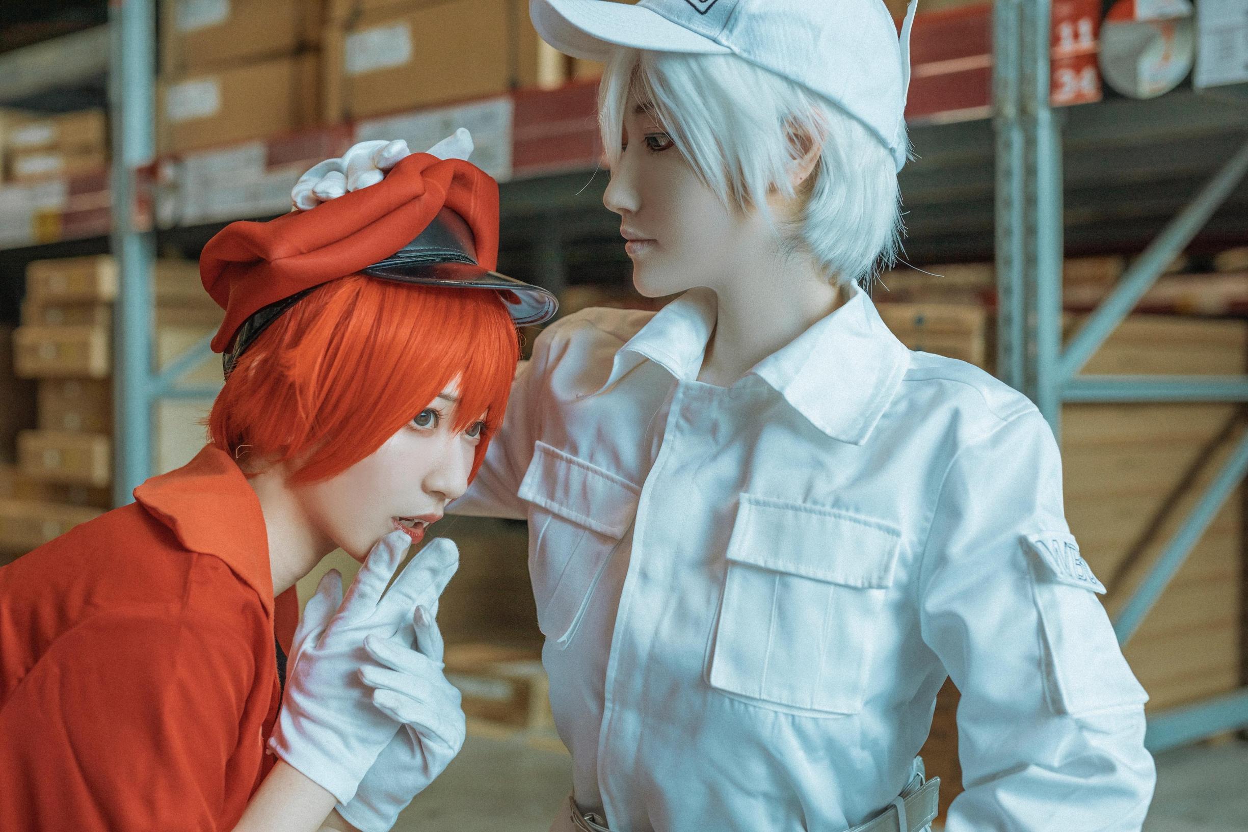 《工作细胞》正片cosplay【CN:桃墨】-第2张