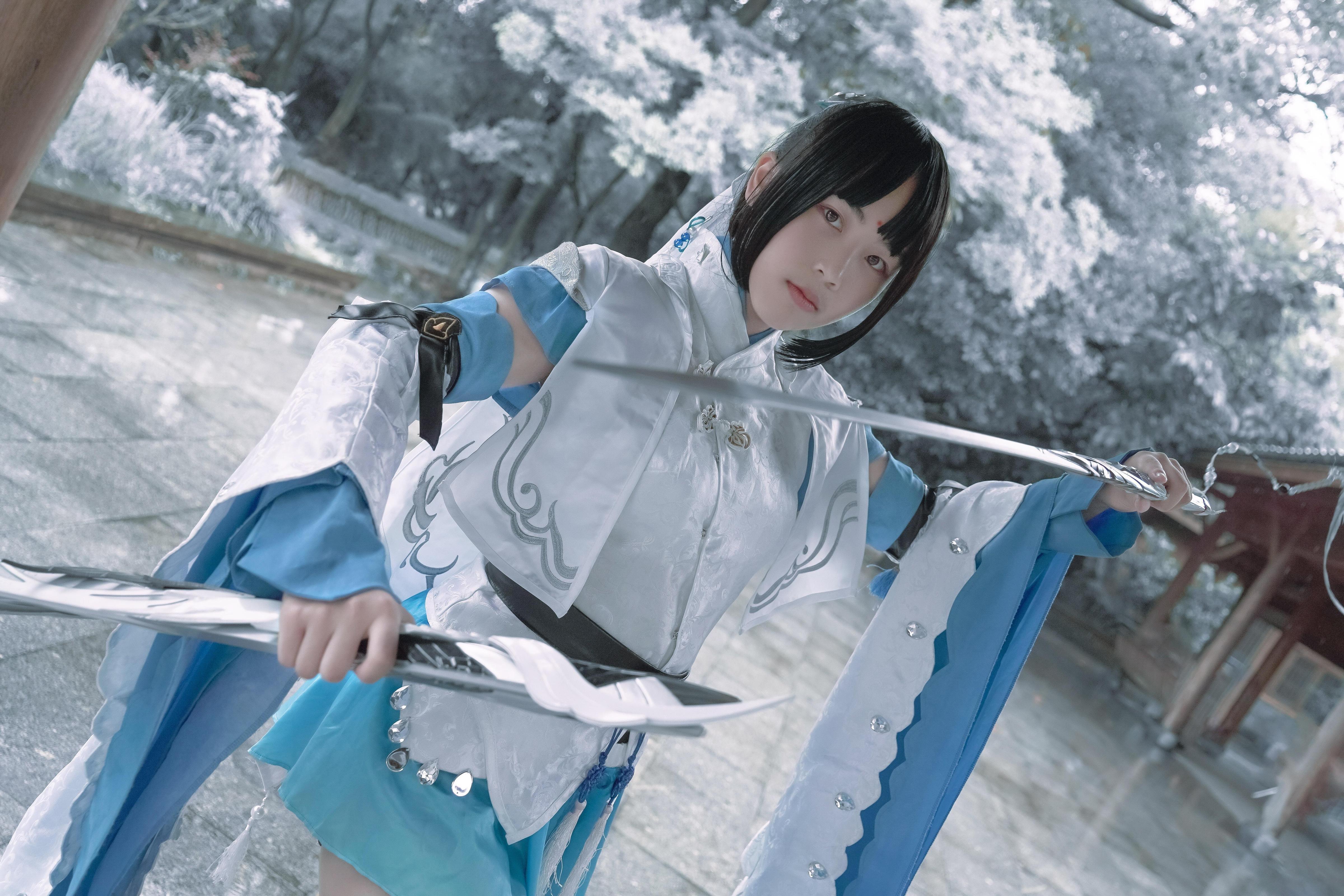 《剑侠情缘网络版叁》剑三cosplay【CN:-木兮-】-第5张