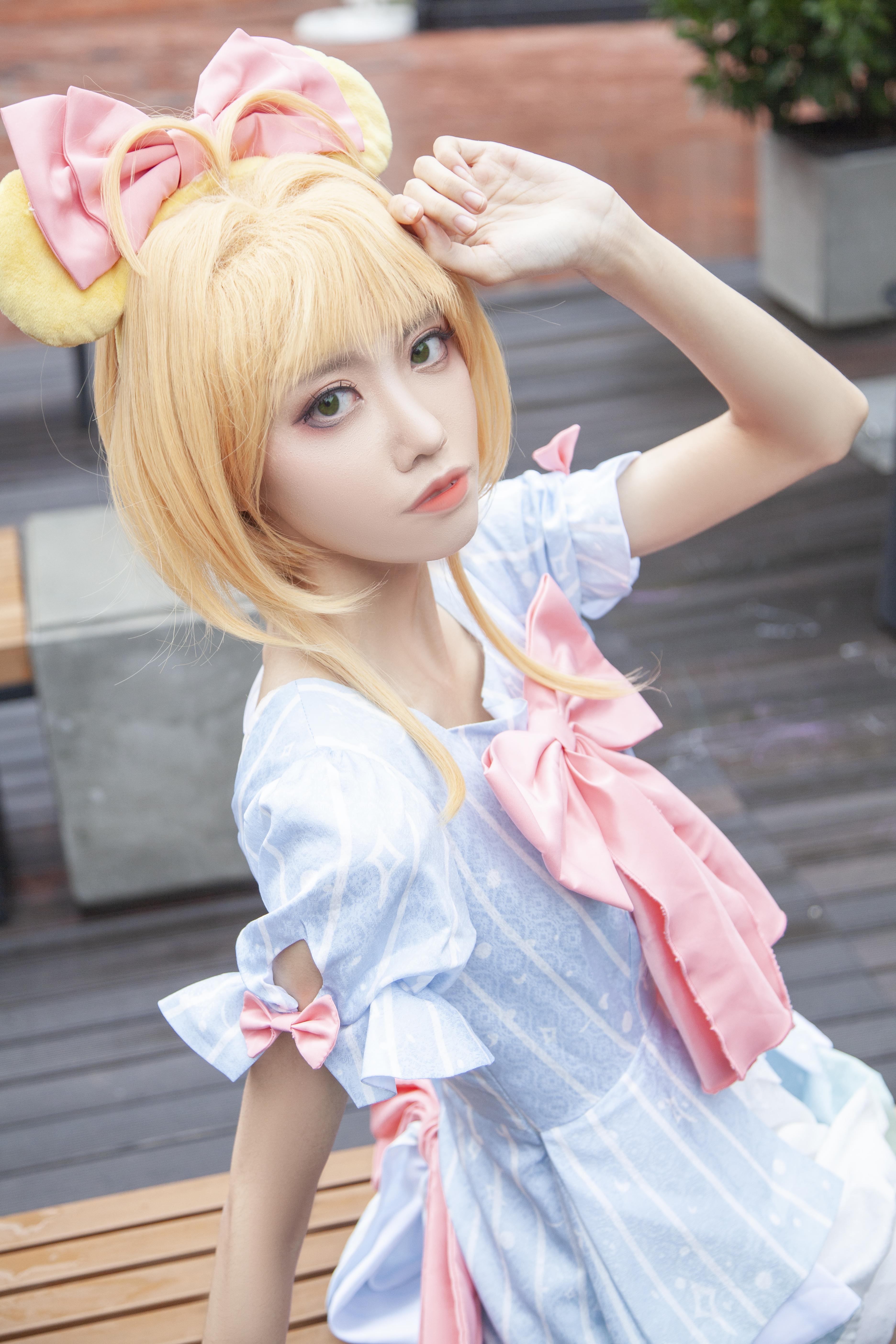 《魔卡少女樱》正片cosplay【CN:Coser_米饭】 -cosplay图集图片插图