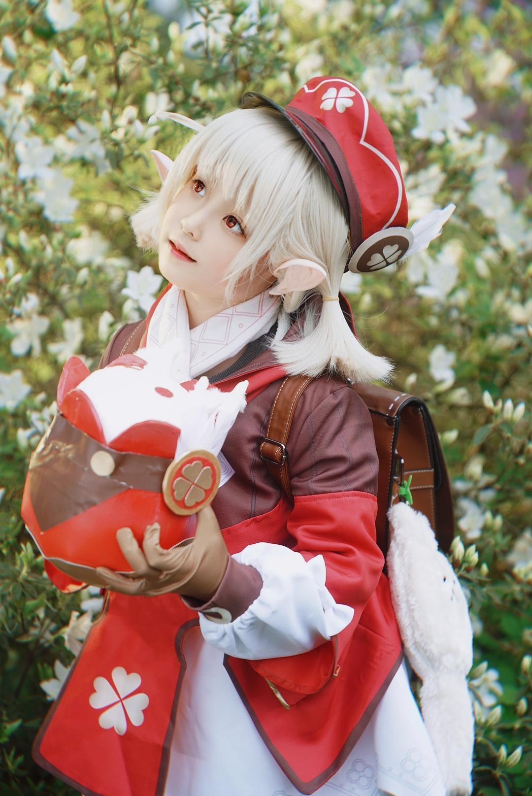 《原神》游戏cosplay【CN:小无邪和猪小糖】-第2张