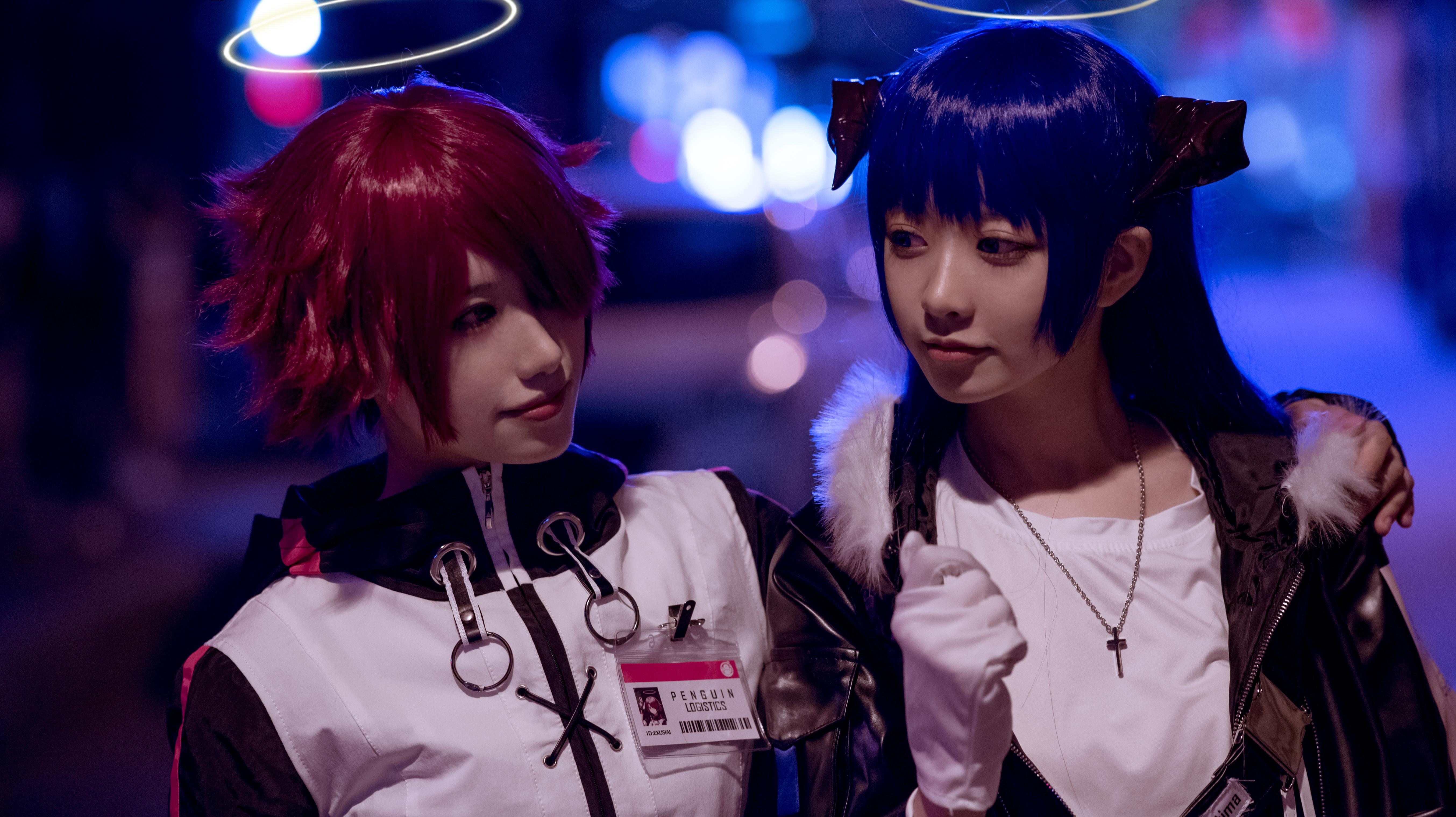 《明日方舟》法则cosplay【CN:KizunaFerin】-第27张