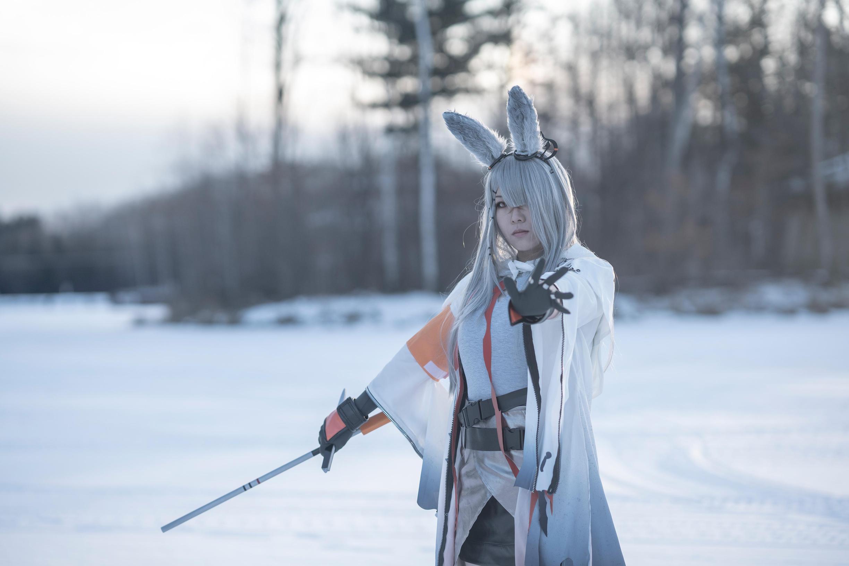 《明日方舟》霜星cosplay【CN:诗歌】-第5张