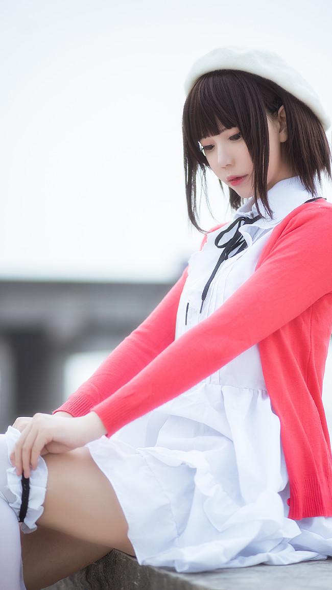 路人女主的养成方法  加藤惠  cn:大肉丸Amiee (11P)-第10张
