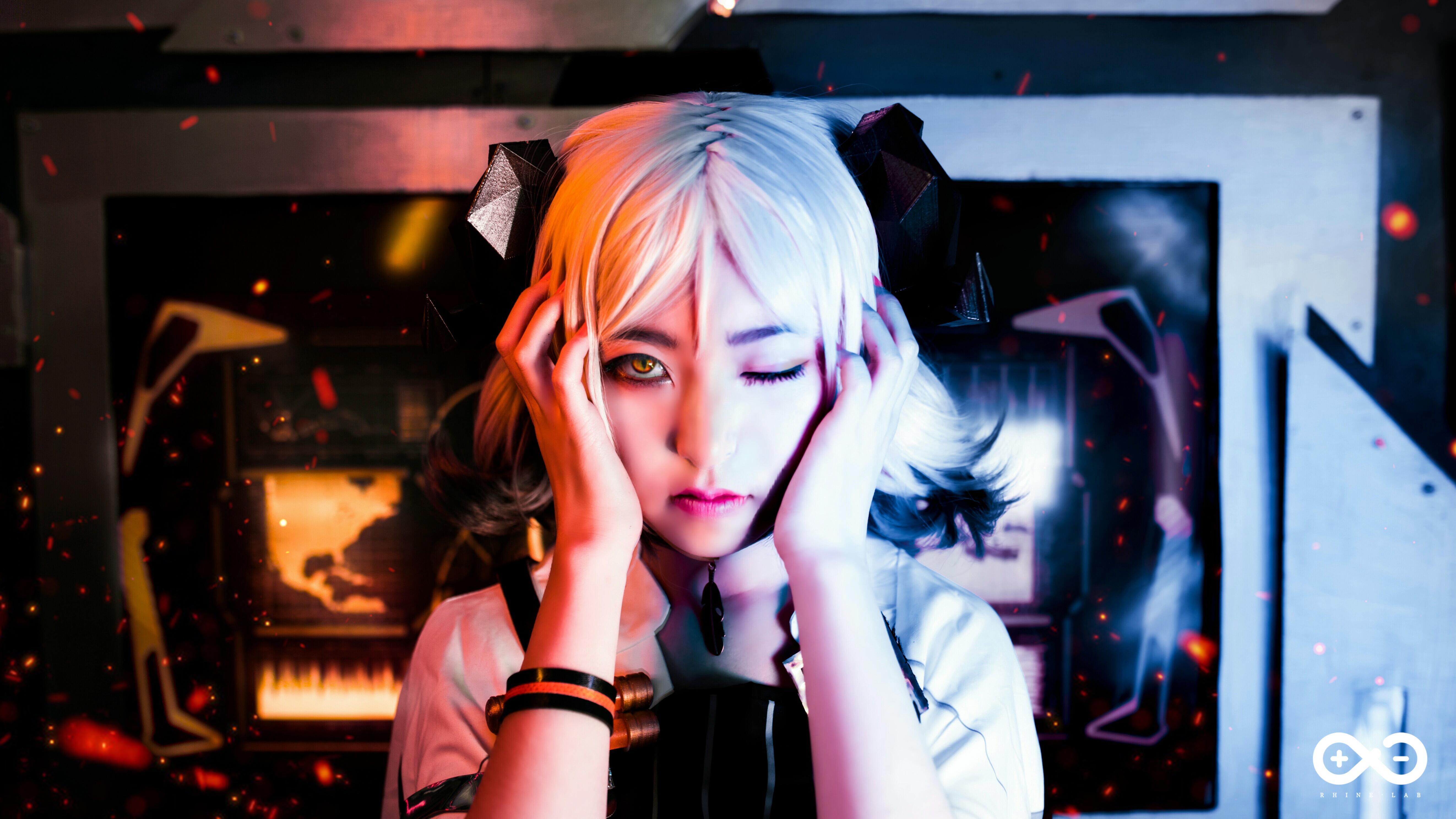 《明日方舟》伊芙利特cosplay【CN:YINGO殷果】-第5张