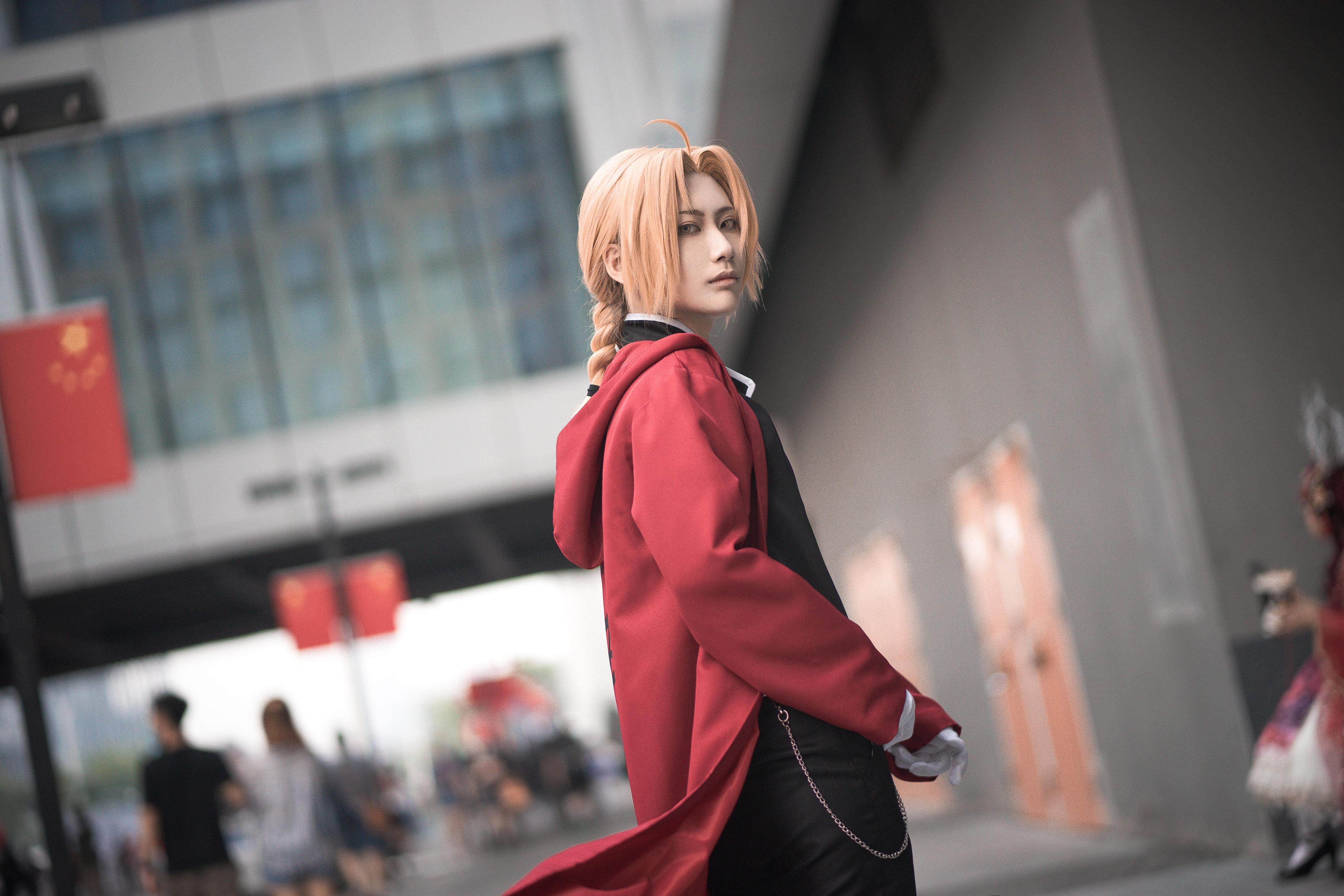《钢之炼金术师》钢之炼金术师爱德华cosplay【CN:连仔】-第3张