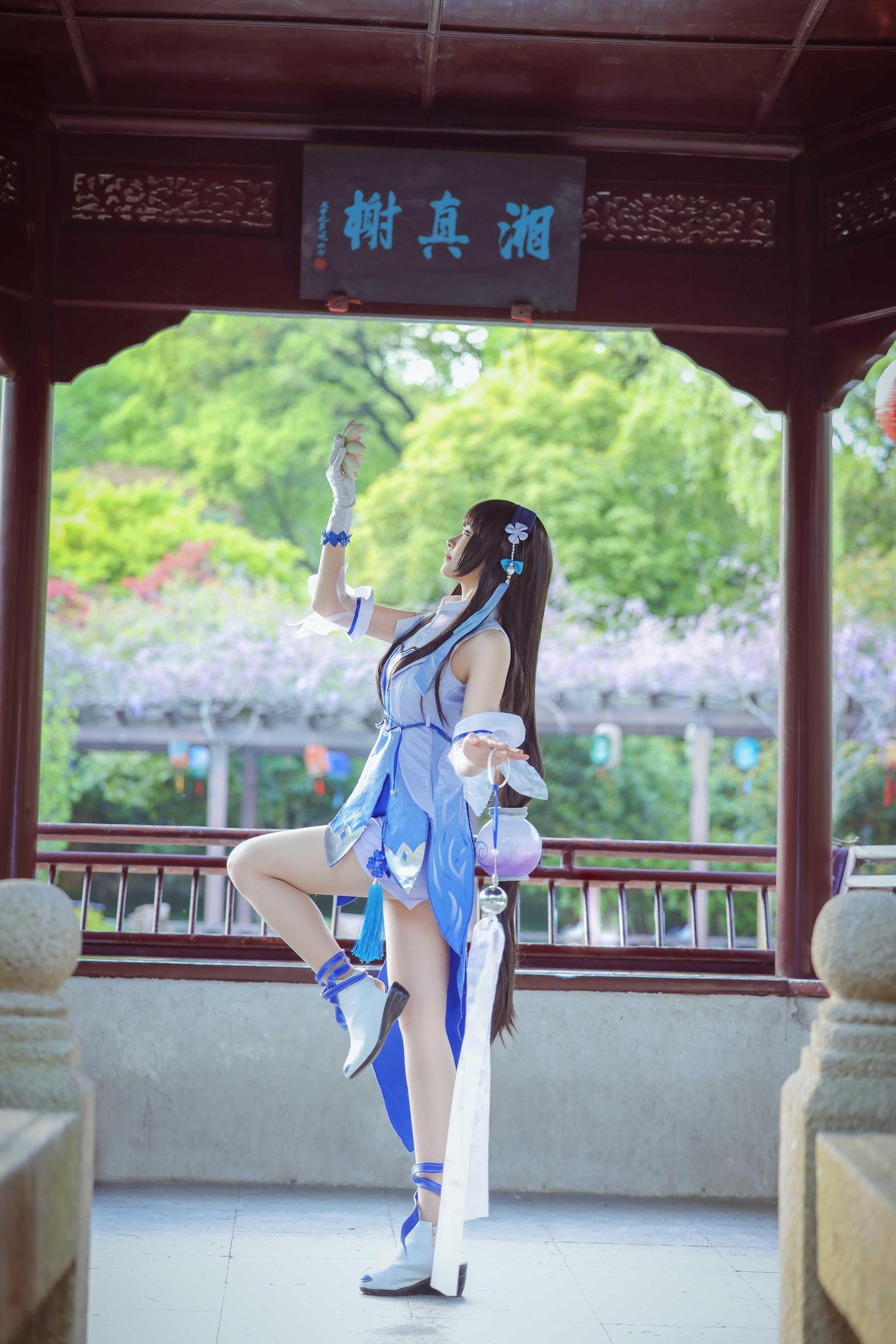 《王者荣耀》王者荣耀西施cosplay【CN:三七七不是二十一】-第4张