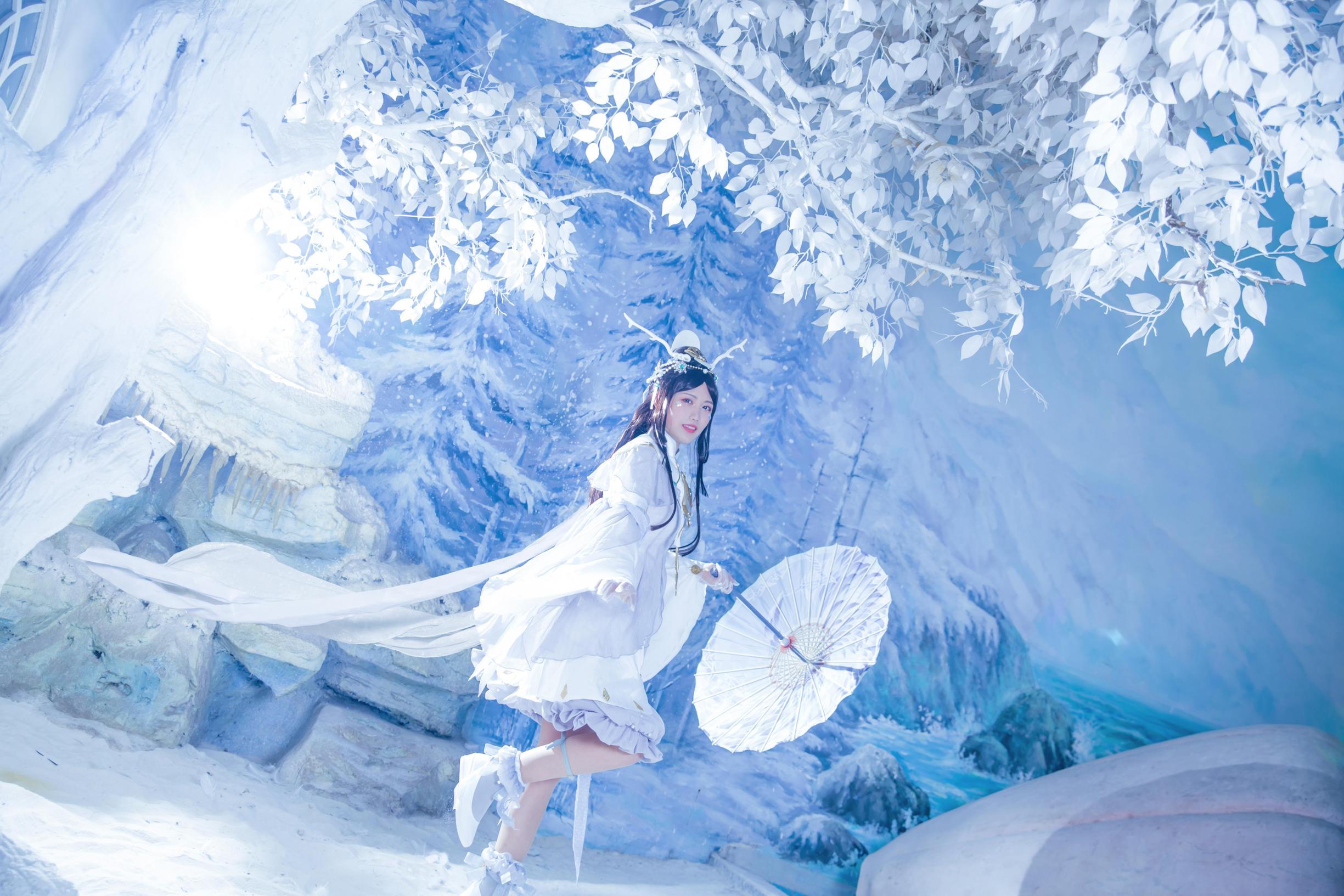 《剑侠情缘网络版叁》蓬莱cosplay【CN:凌霜月半】-第3张