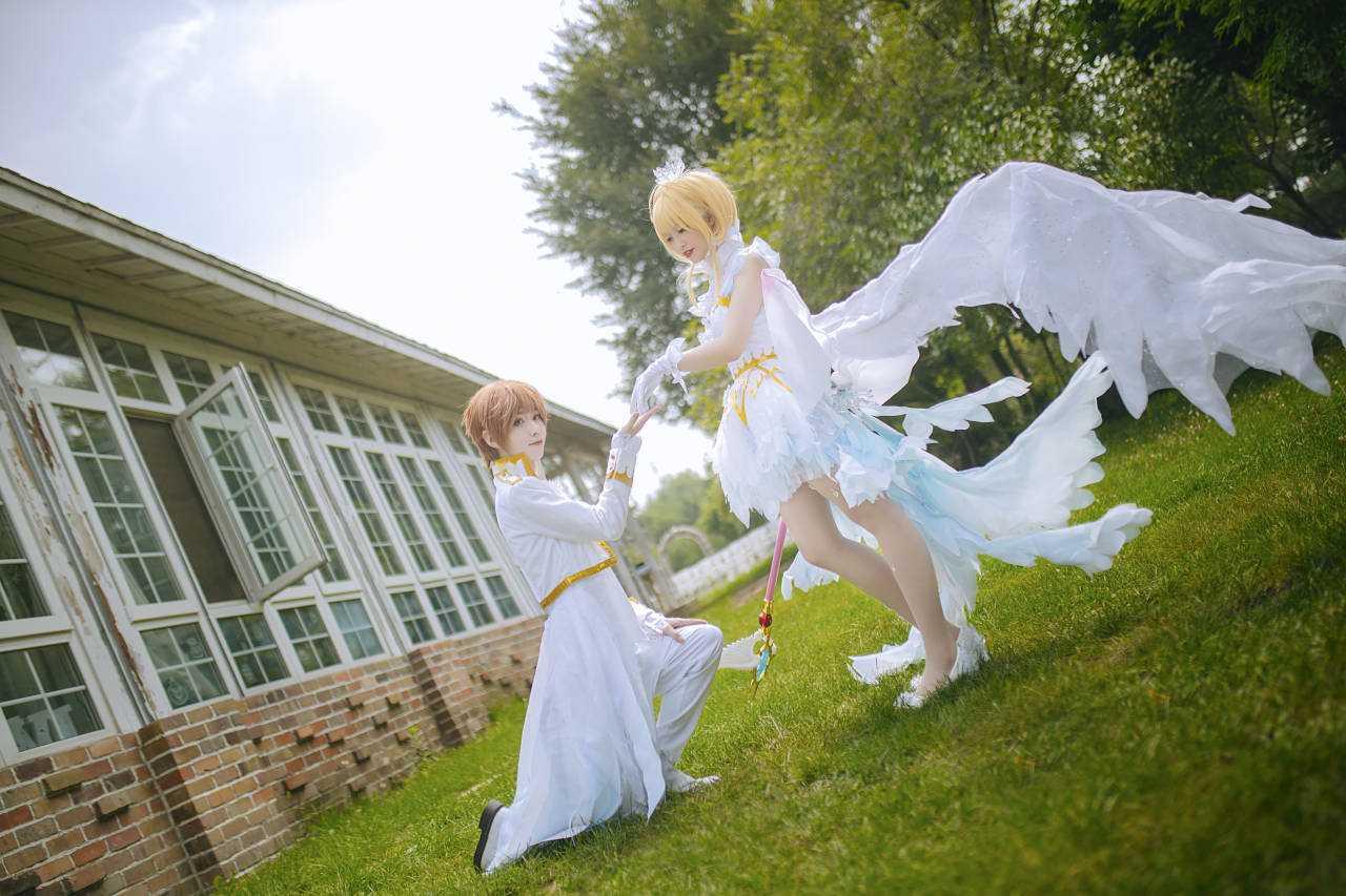 《魔卡少女樱》百变小樱cosplay【CN:菥蓂西米ximi】 -邪恶cosplay福利图片插图