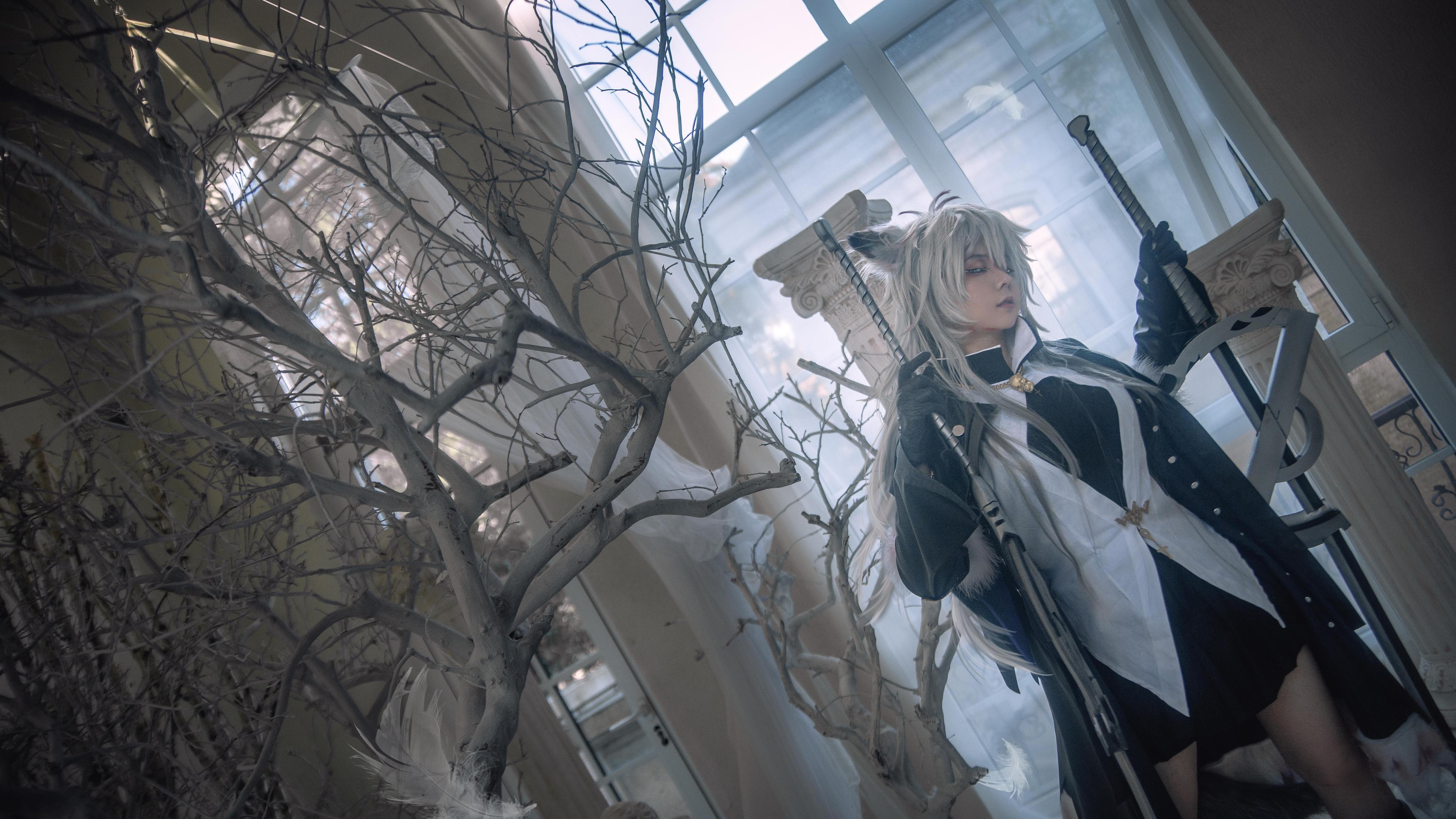 《明日方舟》拉普兰德cosplay【CN:渊秧】-第9张