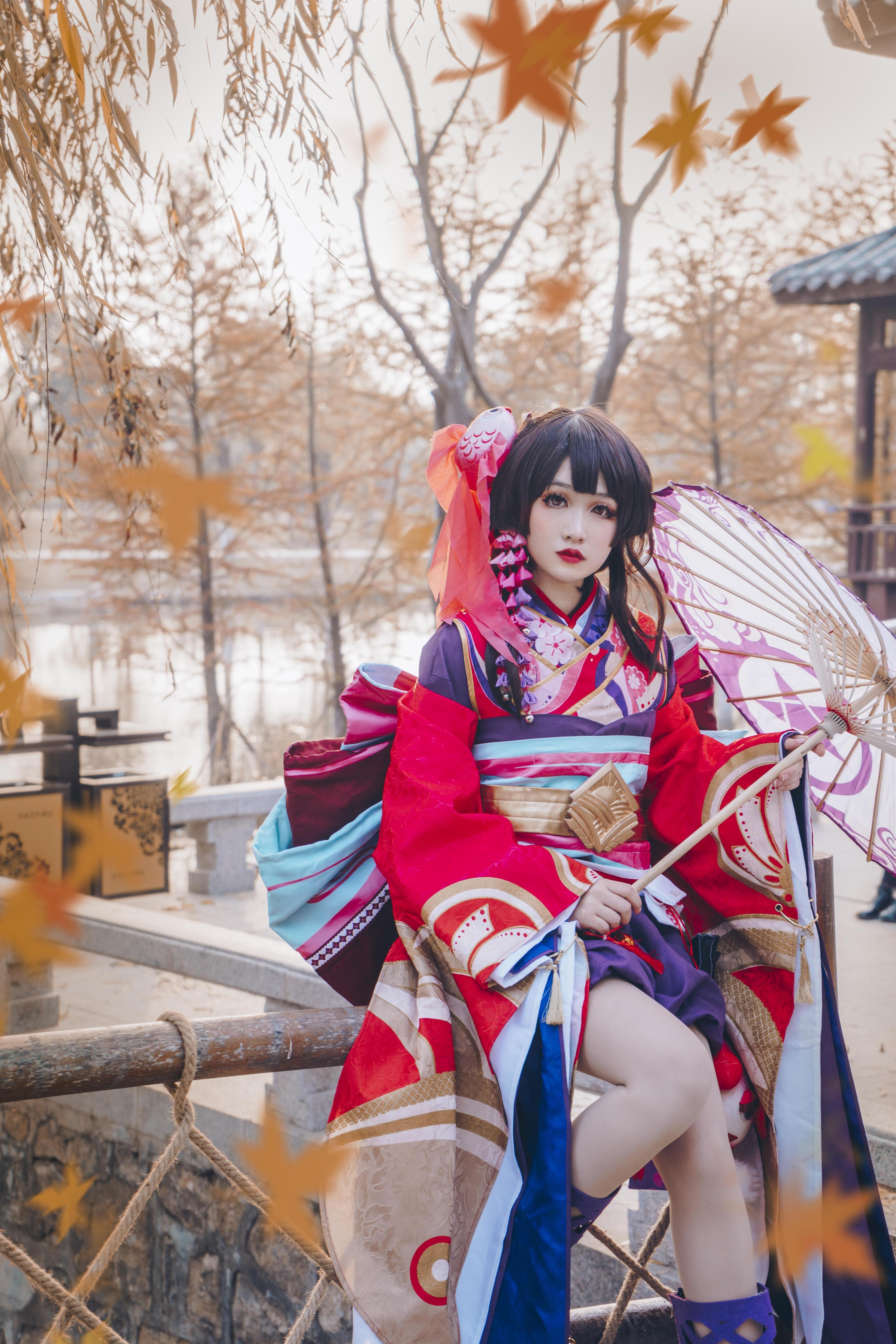 雪女cosplay【CN:不会迷路的雪】-第3张