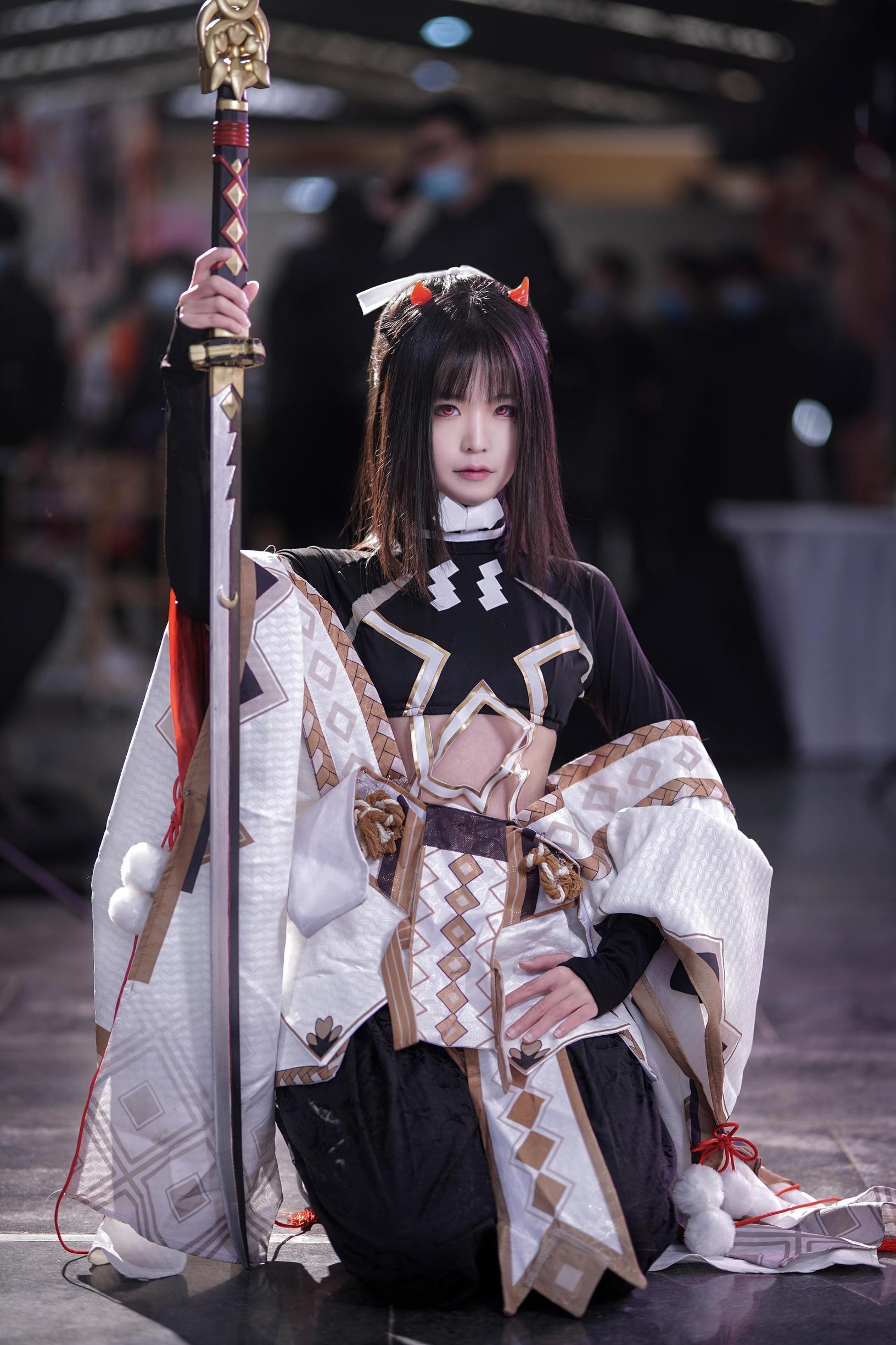 《阴阳师手游》鬼切cosplay【CN:浮灯归影_浮夕夕】-第4张