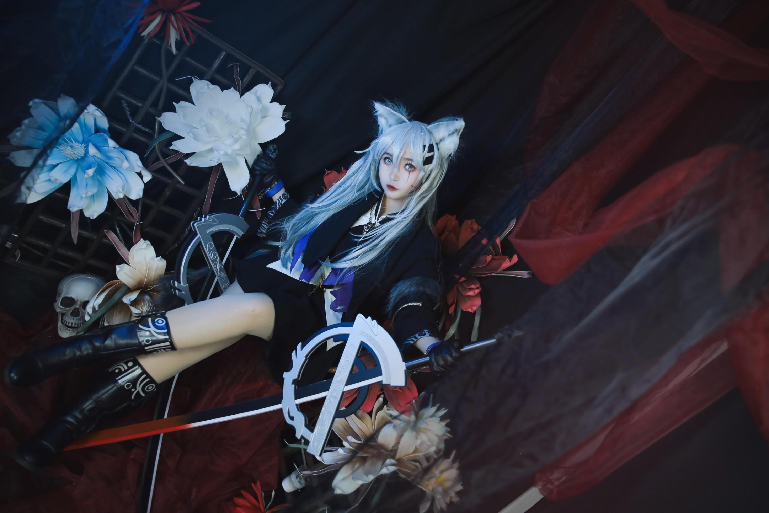 《明日方舟》正片cosplay【CN:Enki.lily.凛离】-第9张