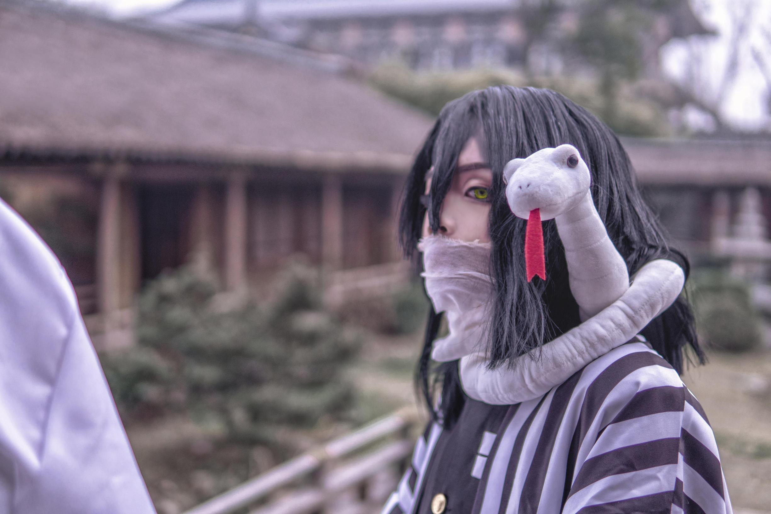 《鬼灭之刃》鬼杀队cosplay【CN:亦白Aluka】-第29张