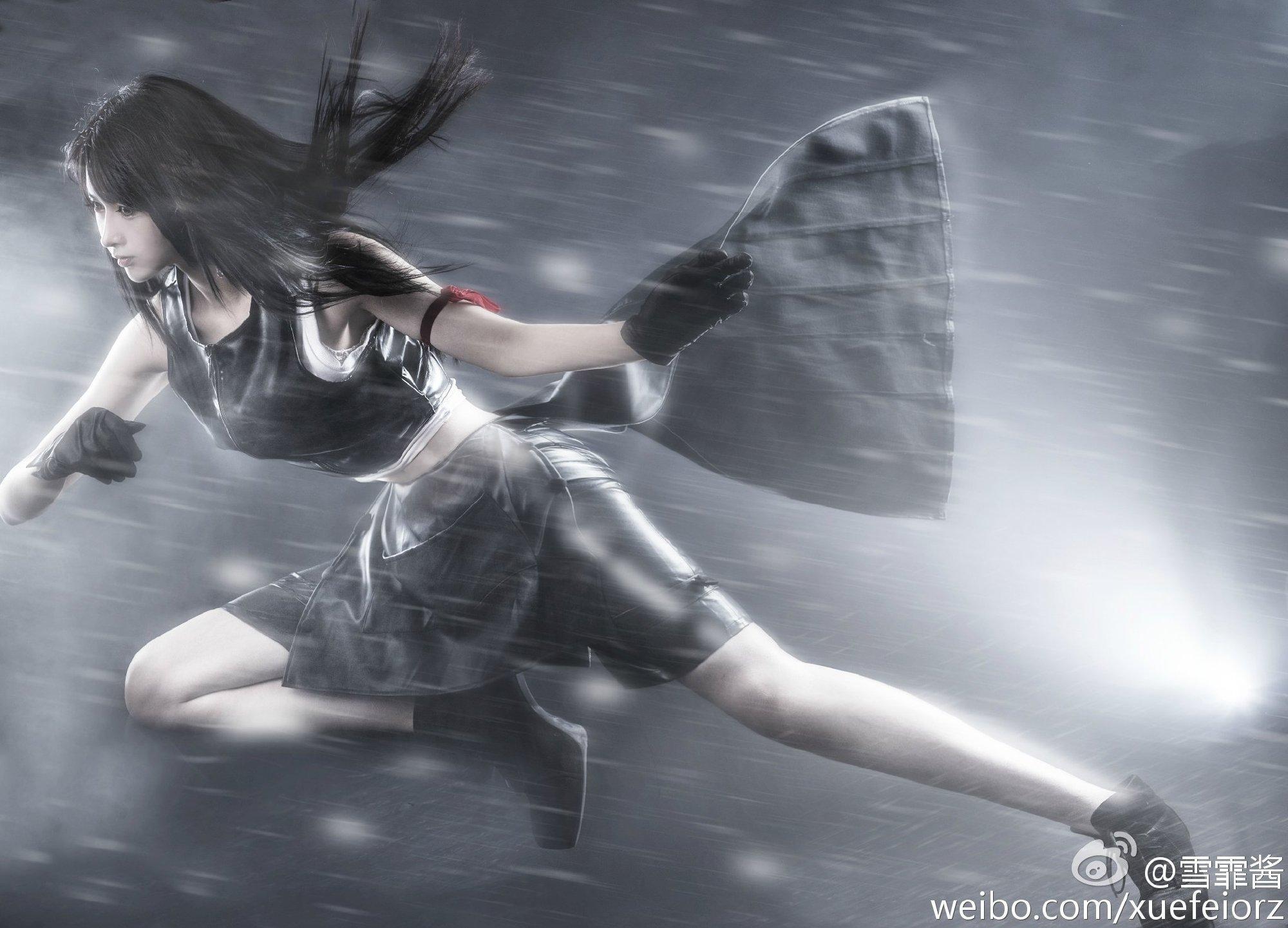 《最终幻想》正片cosplay【CN:雪霏Nova】 -泳装cosplay图片插图