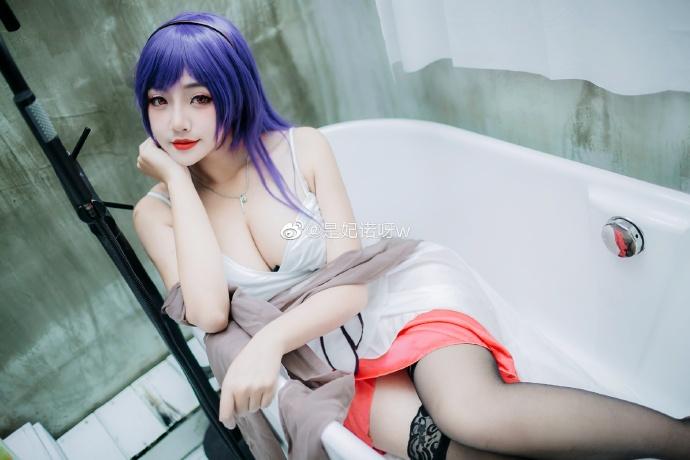 [COS]路人女主的养成方法   霞之丘诗羽   @是妃诺呀w (9P) -古风少女cosplay图片插图