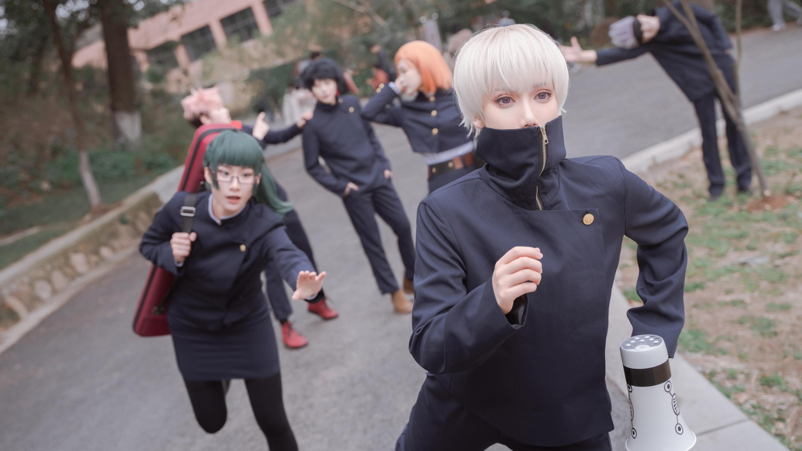 《咒术回战》战士cosplay【CN:戎南】 -cosplay中国僵尸高清图片插图