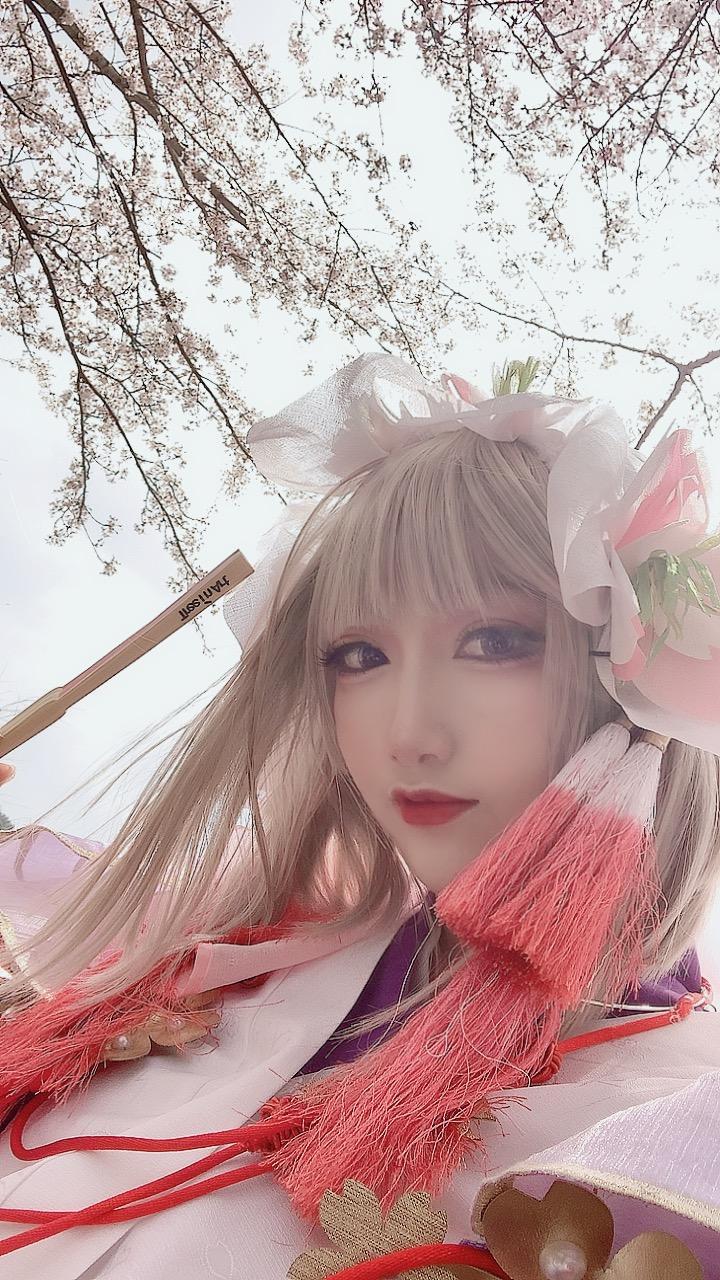 《阴阳师手游》樱花妖早樱花见cosplay【CN:遥山药药】-第7张