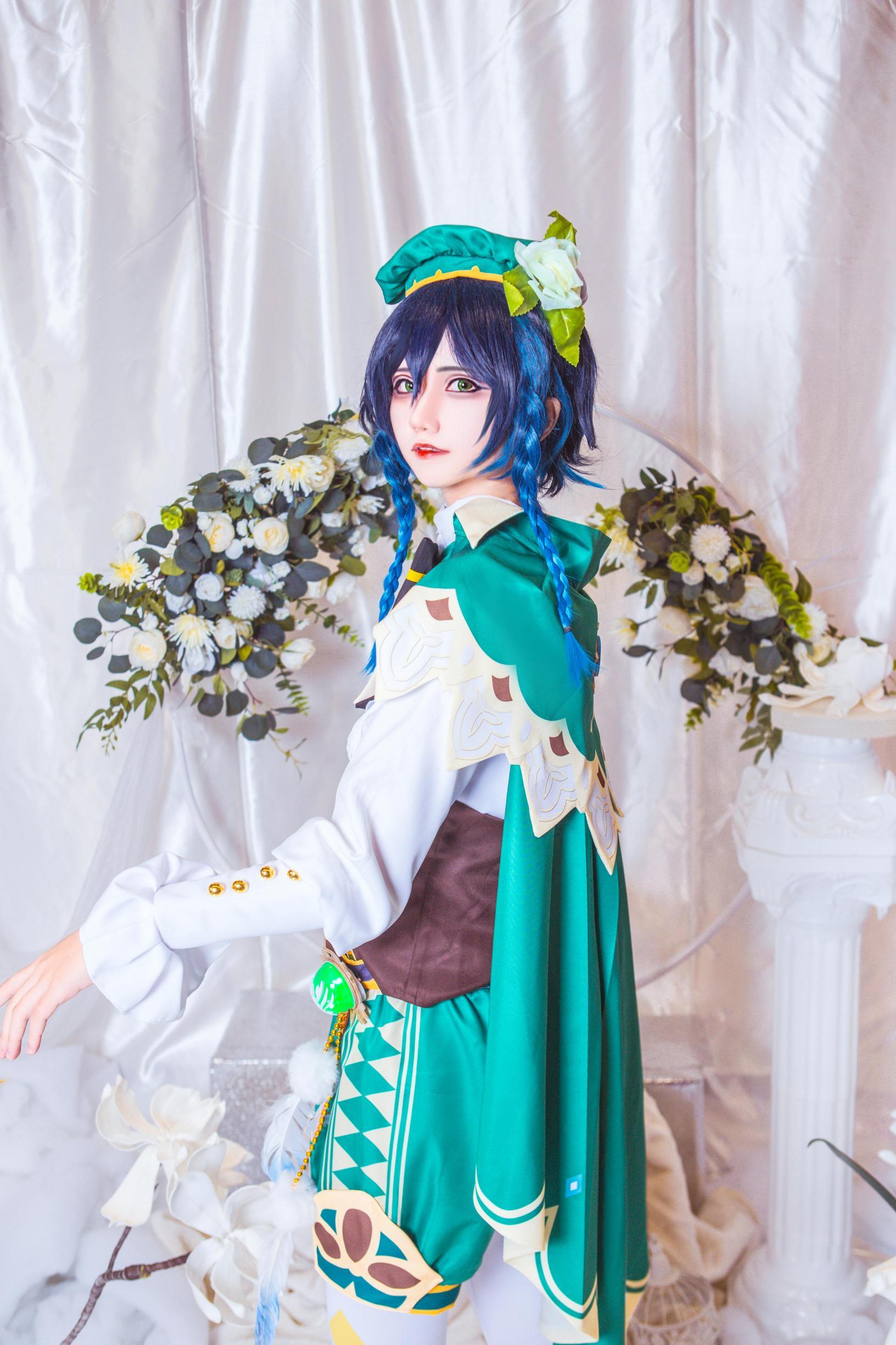 《原神》巴巴托斯cosplay【CN:南千鲤Akirui】-第7张