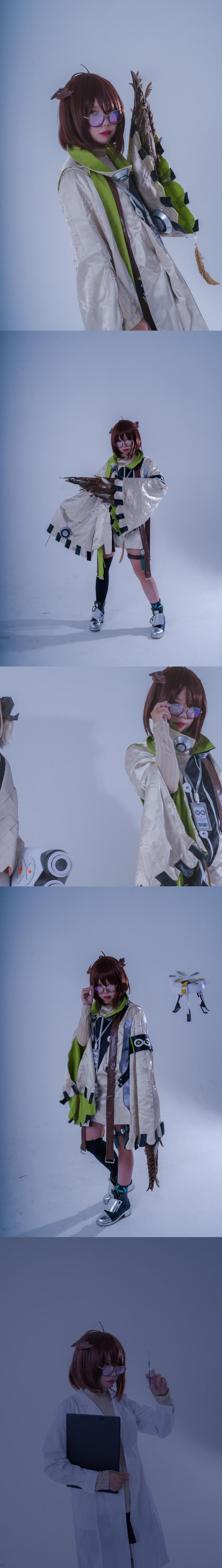 《明日方舟》伊芙利特cosplay【CN:無聊小啟】-第6张