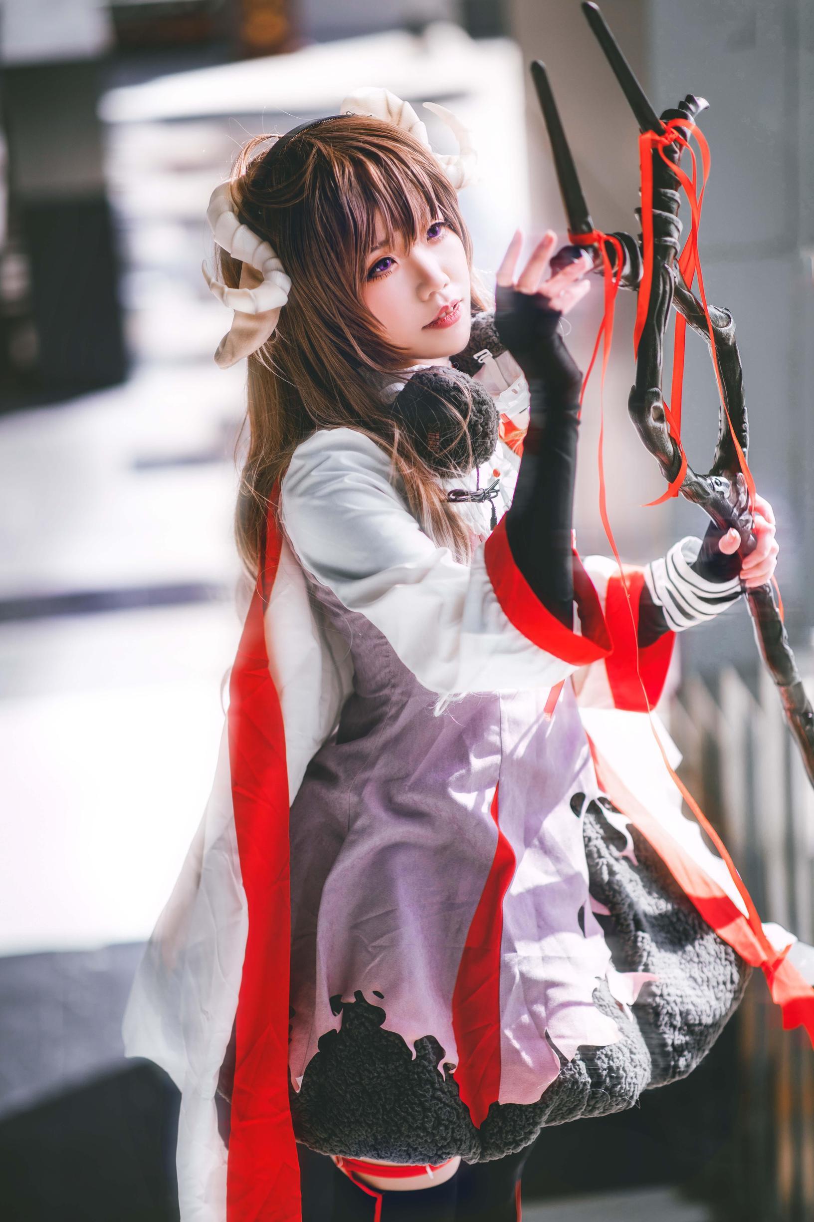 《明日方舟》漫展cosplay【CN:七月流火xx】-第1张