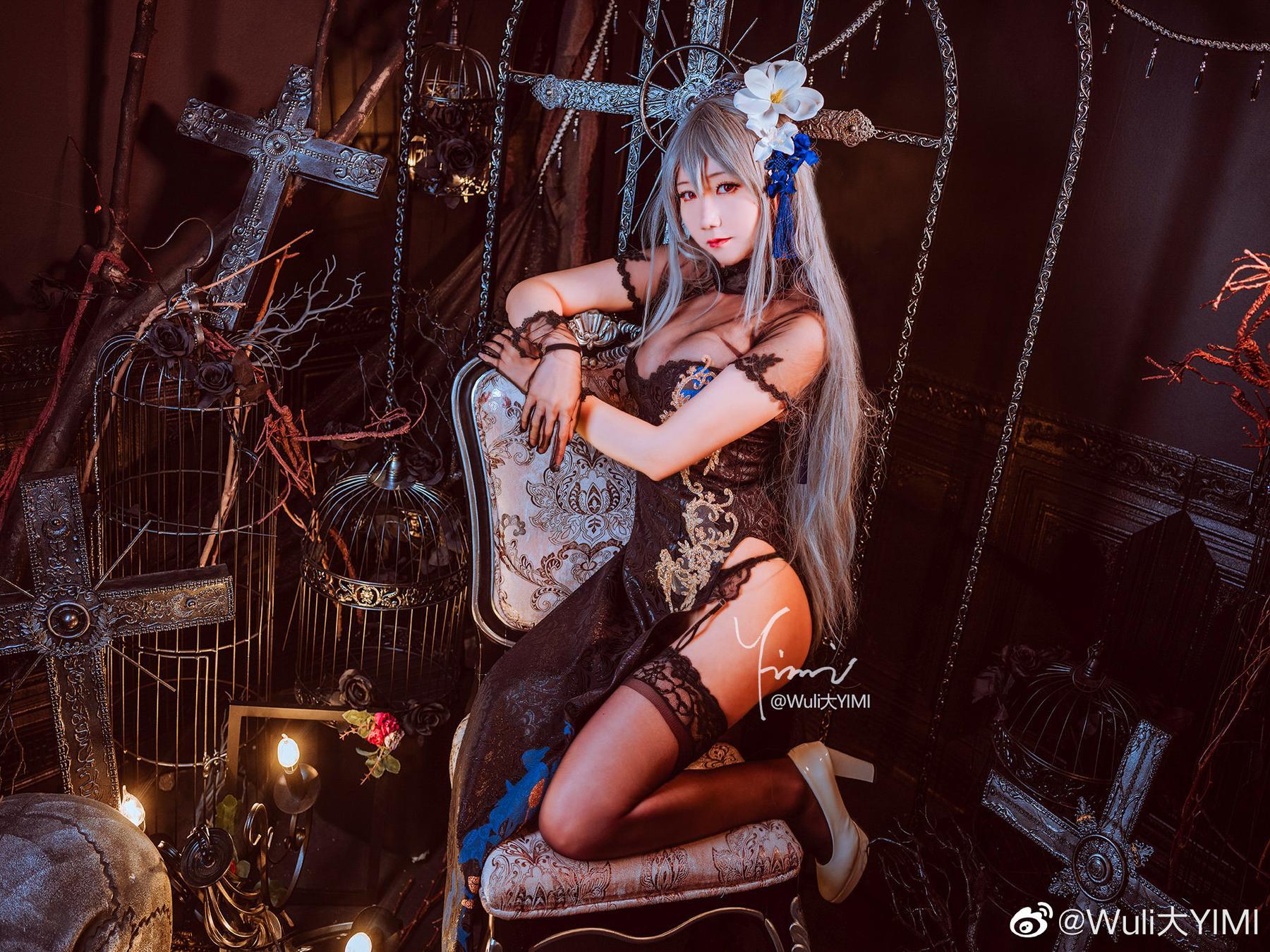 碧蓝航线   路易九世 「瑰丽的执勤人」   @Wuli大YIMI (9P)-第5张
