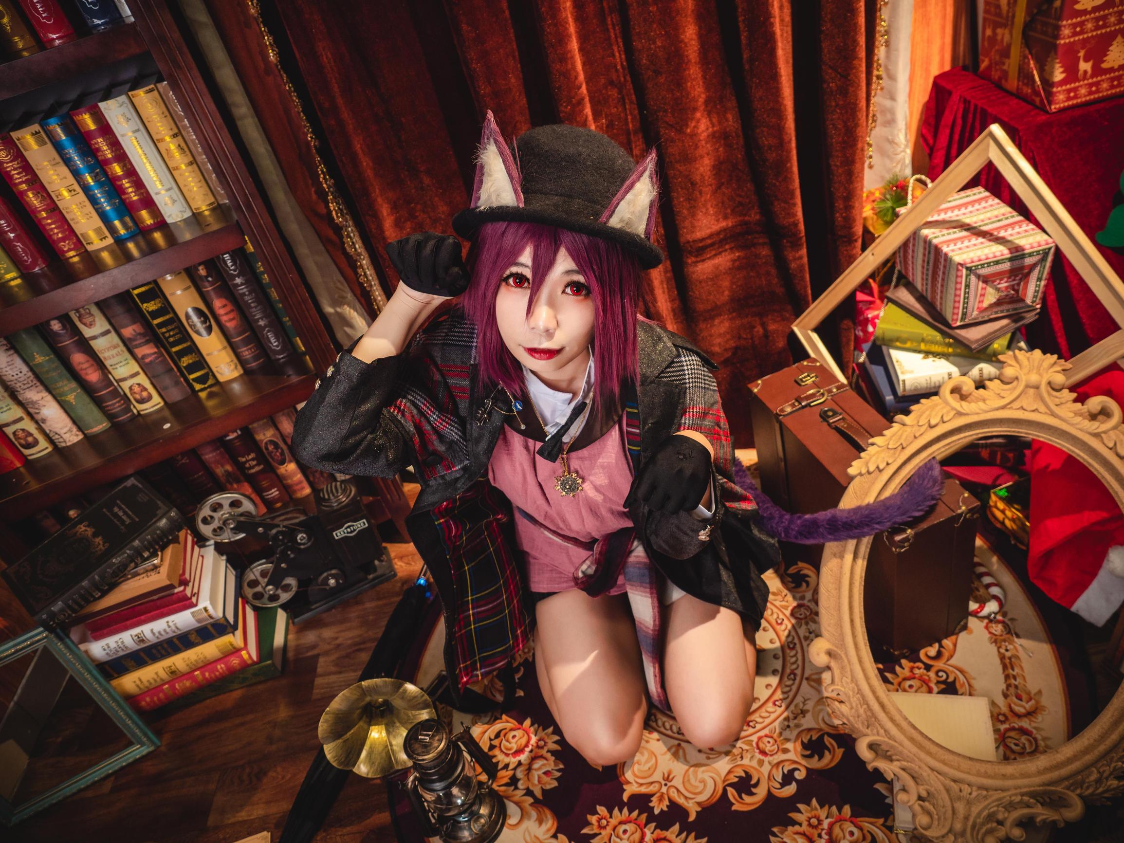 《明日方舟》剑圣cosplay【CN:海鲜君】-第4张
