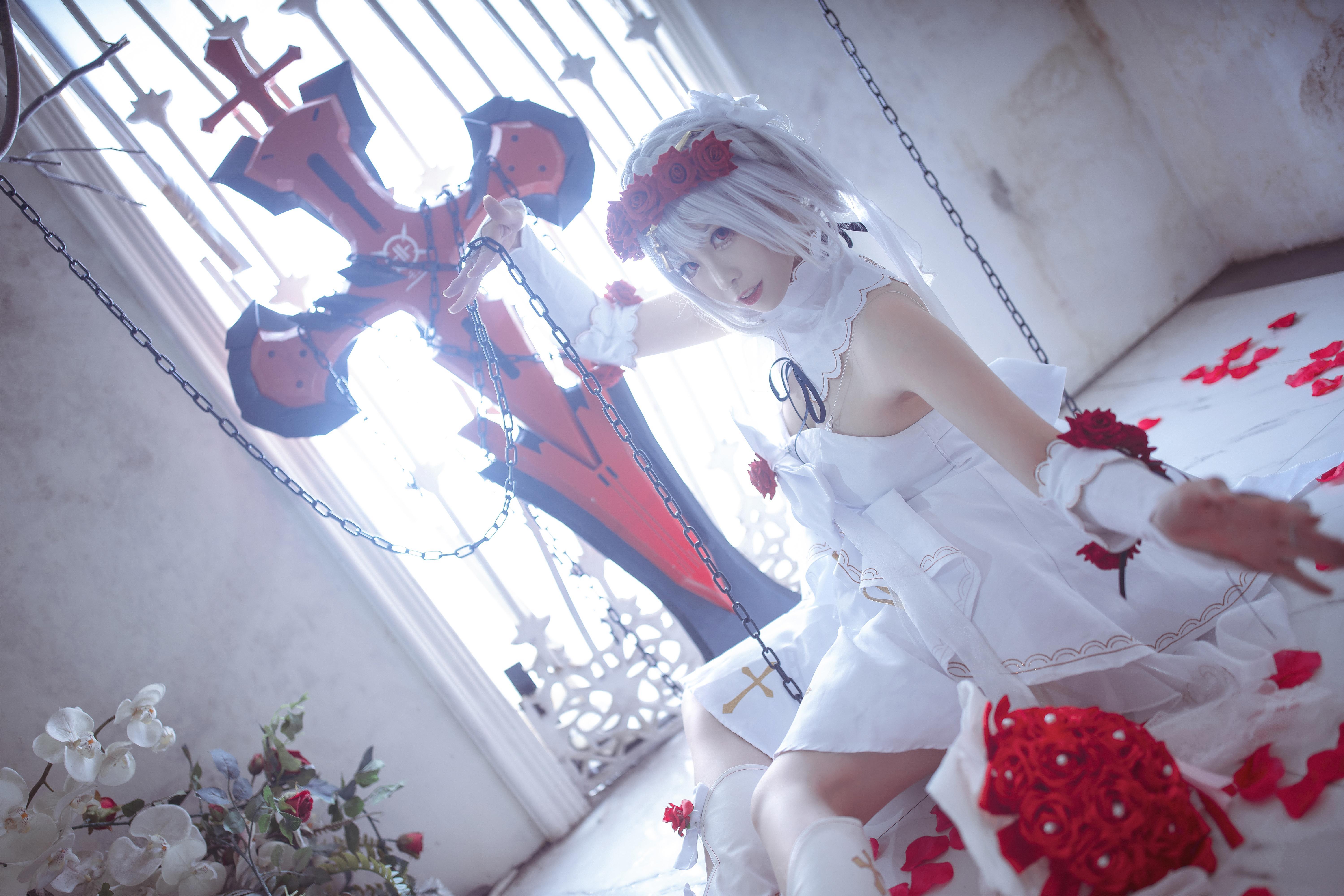 《崩坏学园》正片cosplay【CN:樱岛嗷一】-第4张