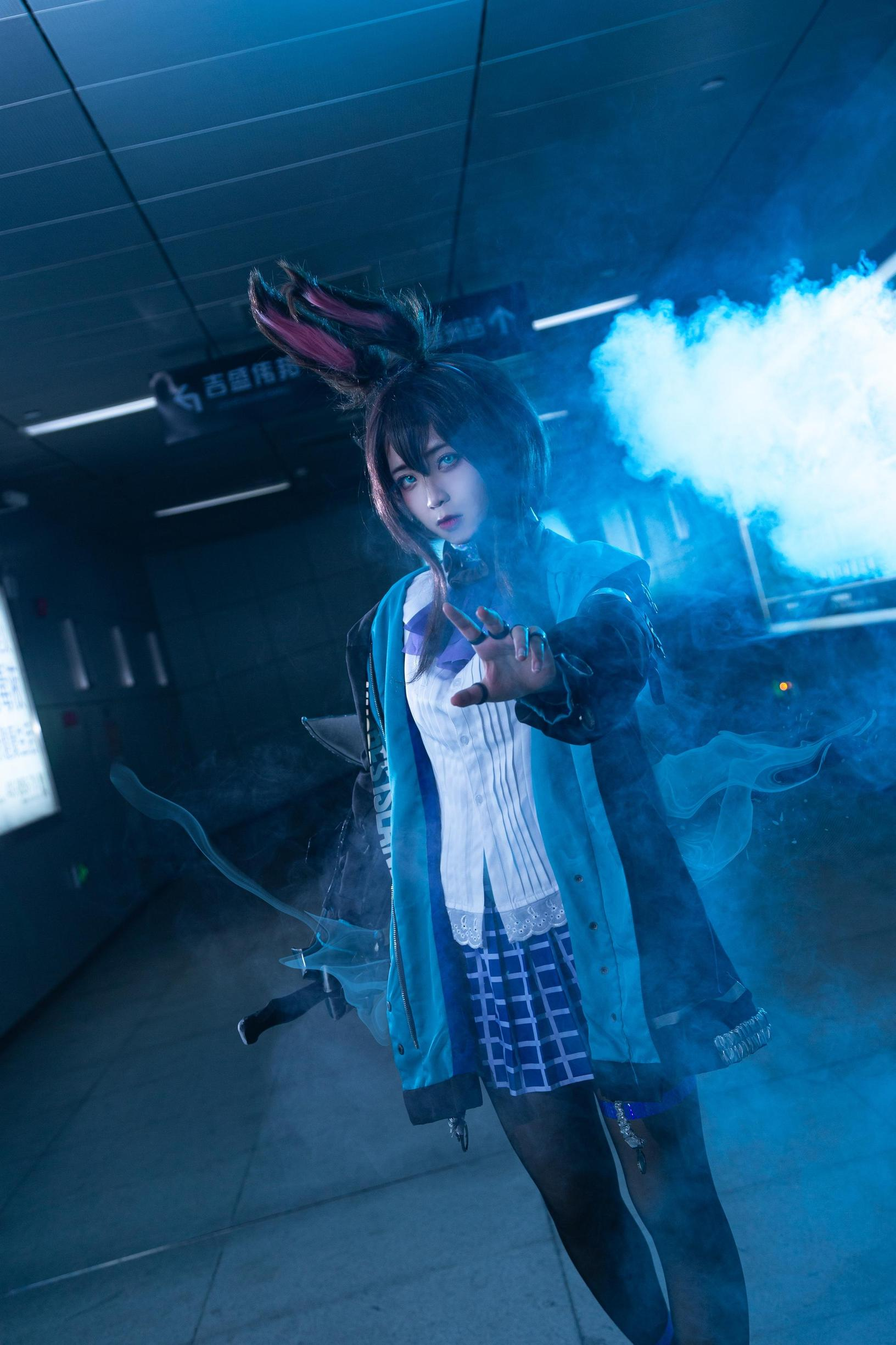 《萤火虫动漫游戏嘉年华》漫展cosplay【CN:双叶Futaba】-第6张