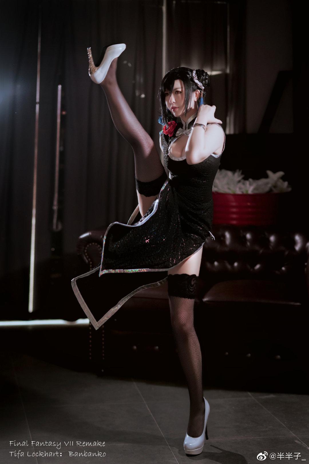 最终幻想7重制版   蒂法·洛克哈特   @半半子_ (9P)-第3张