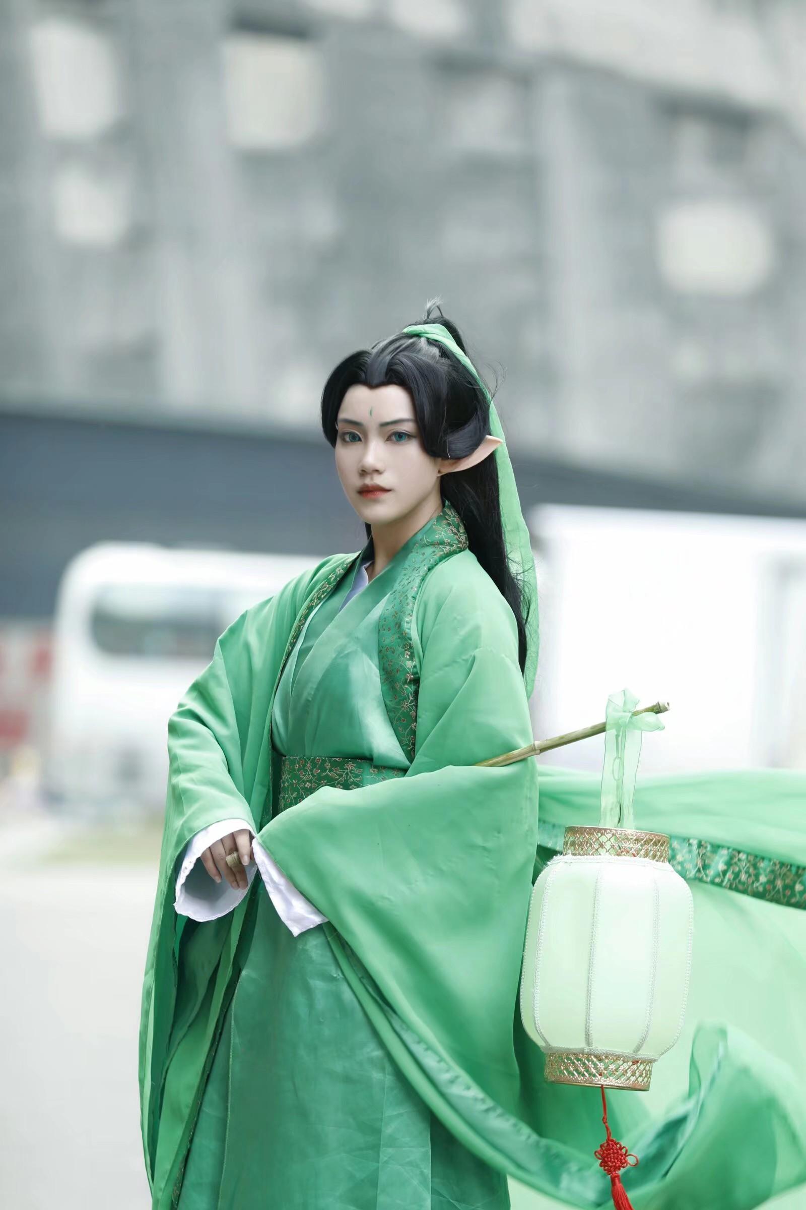 《咒术回战》不敢cosplay【CN:易馥】 -无名cosplay图片插图
