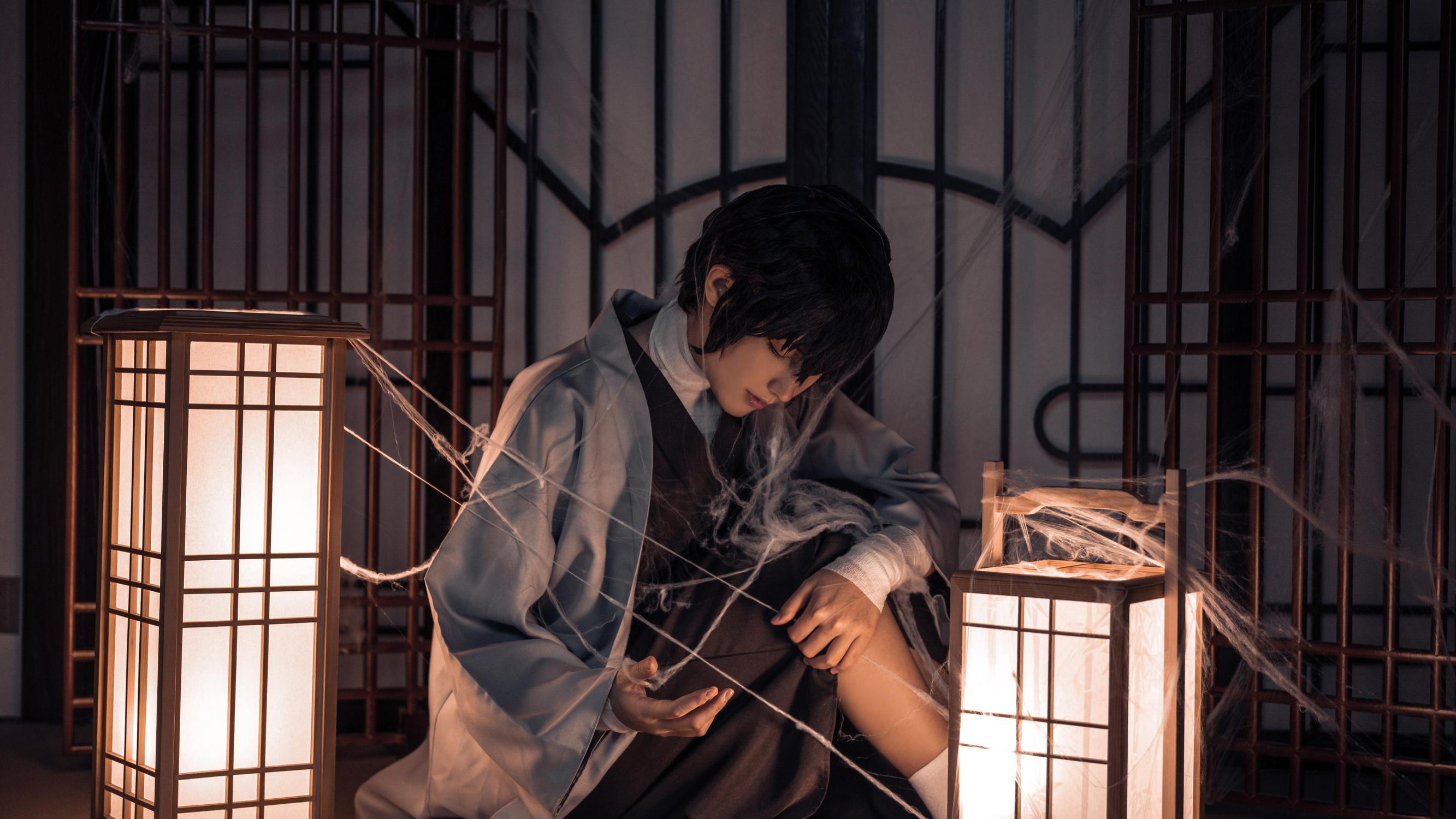 《文豪野犬》正片cosplay【CN:辰苏】 -性感蛇妖真人cosplay图片插图