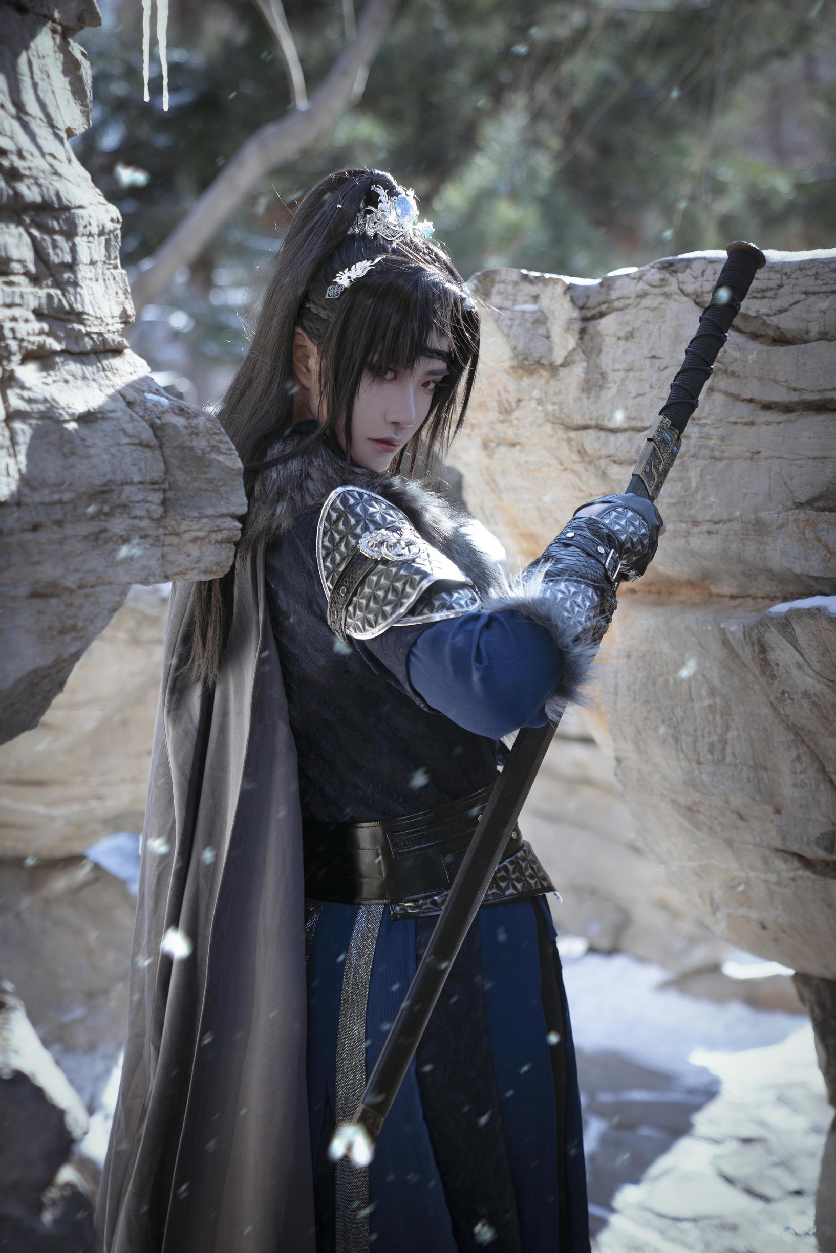 《将进酒》战士cosplay【CN:一江山一】-第7张