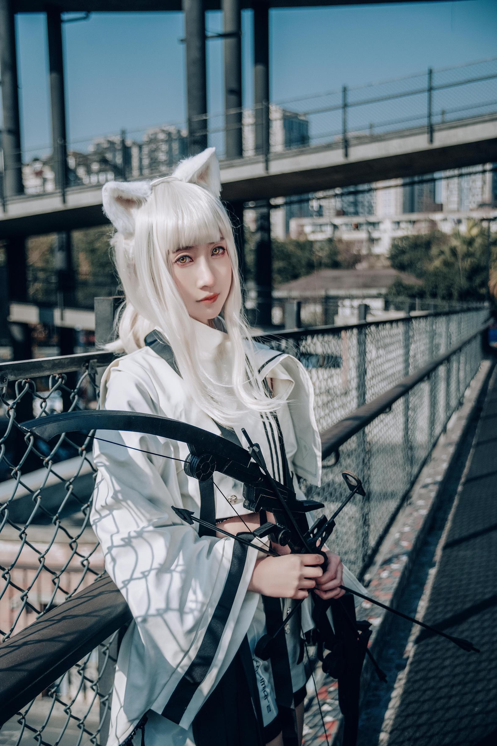 《明日方舟》正片cosplay【CN:羽咲_VedeN】-第10张