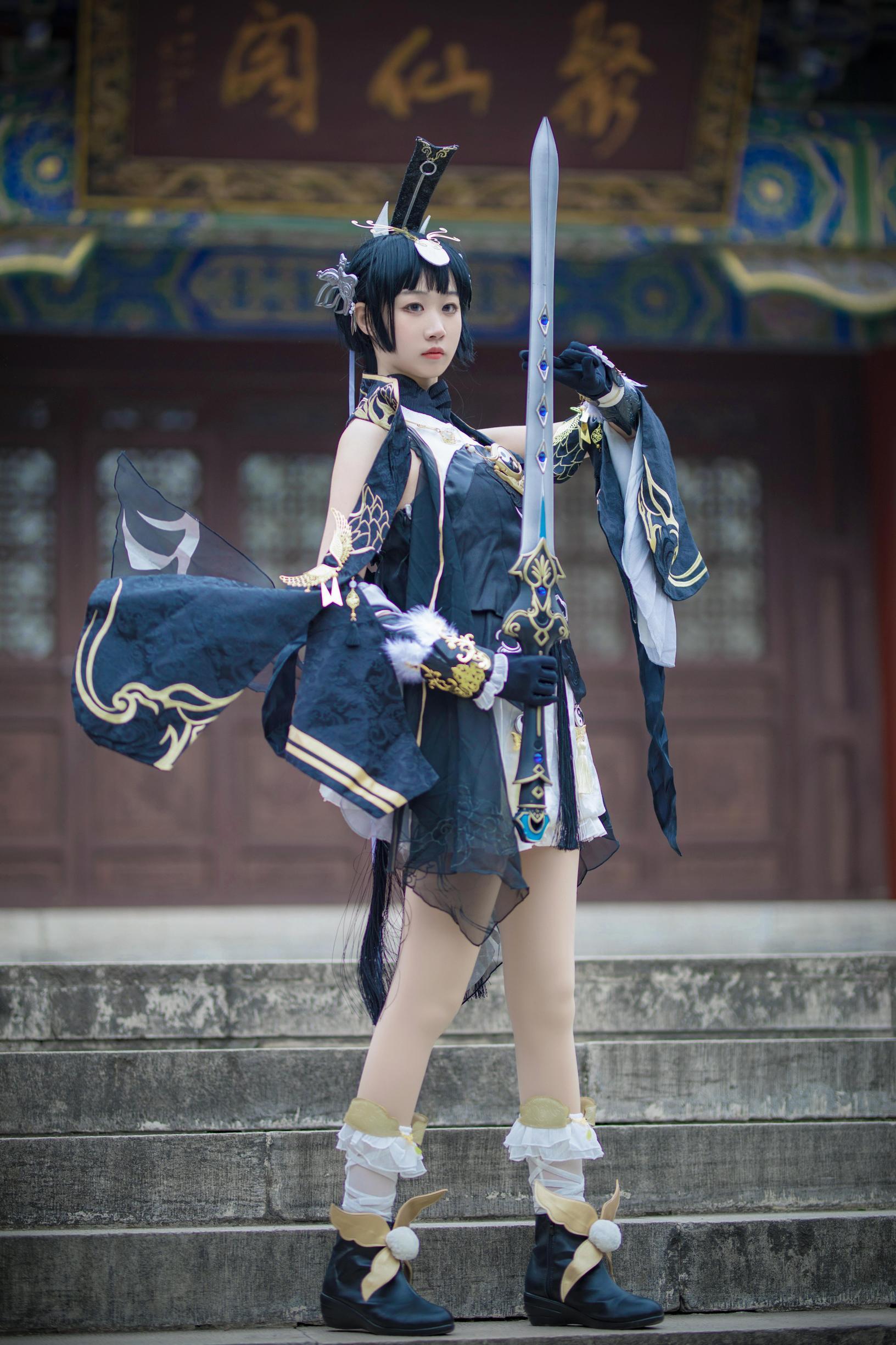 《剑侠情缘网络版叁》剑三cosplay【CN:寄辞于鱼_】-第1张