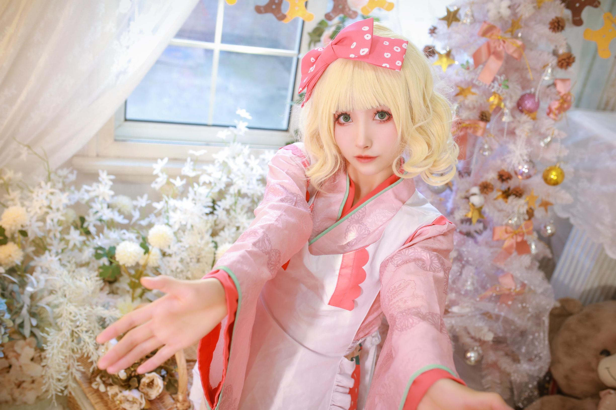 《蔷薇少女》蔷薇少女雏莓cosplay【CN:黎氿氿】-第6张