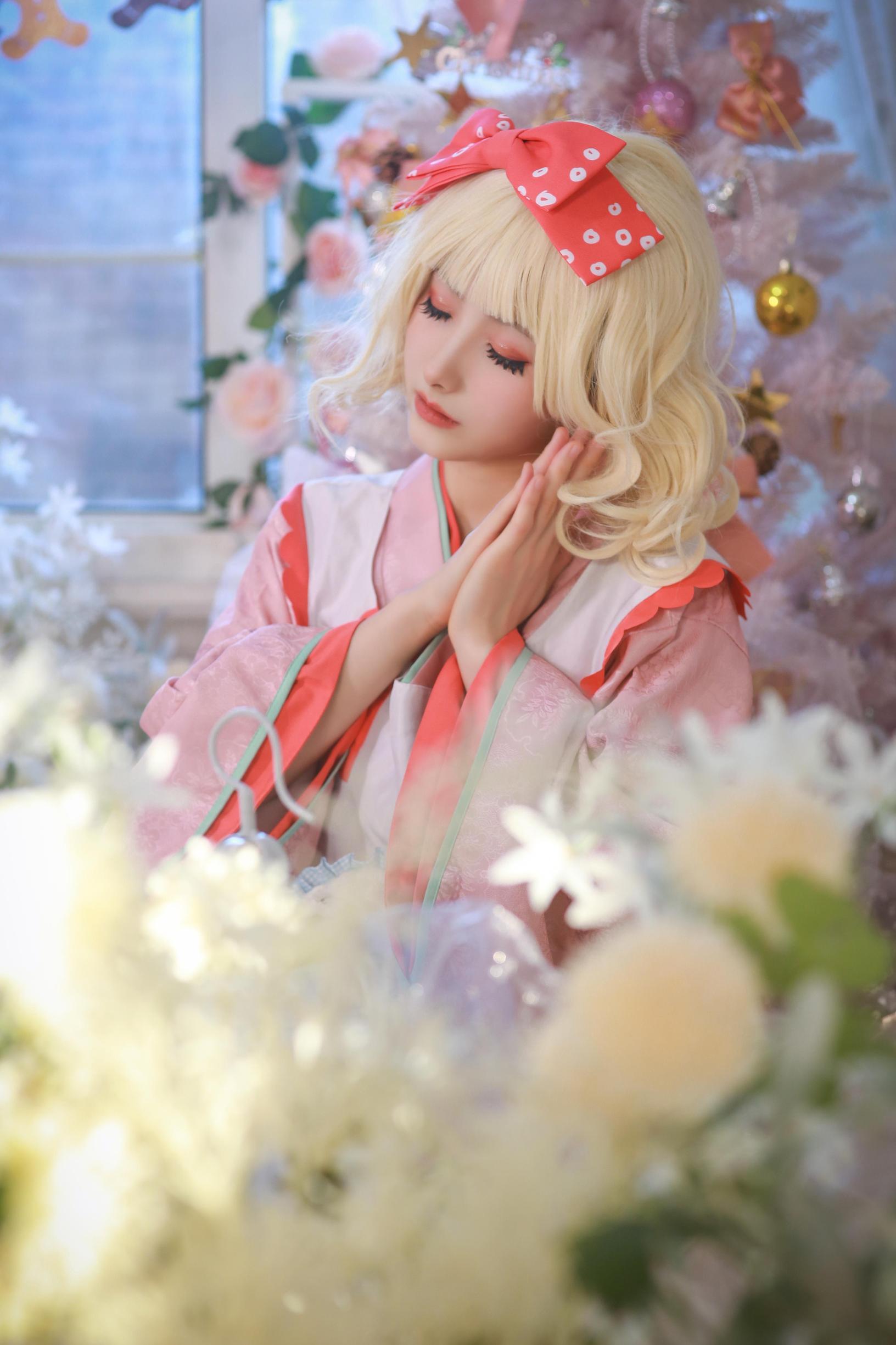 《蔷薇少女》蔷薇少女雏莓cosplay【CN:黎氿氿】-第3张