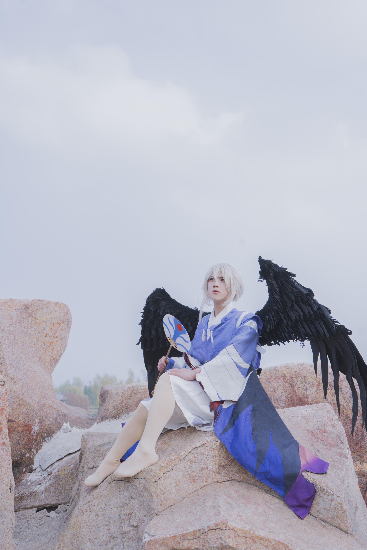 雪女cosplay【CN:不会迷路的雪】-第11张