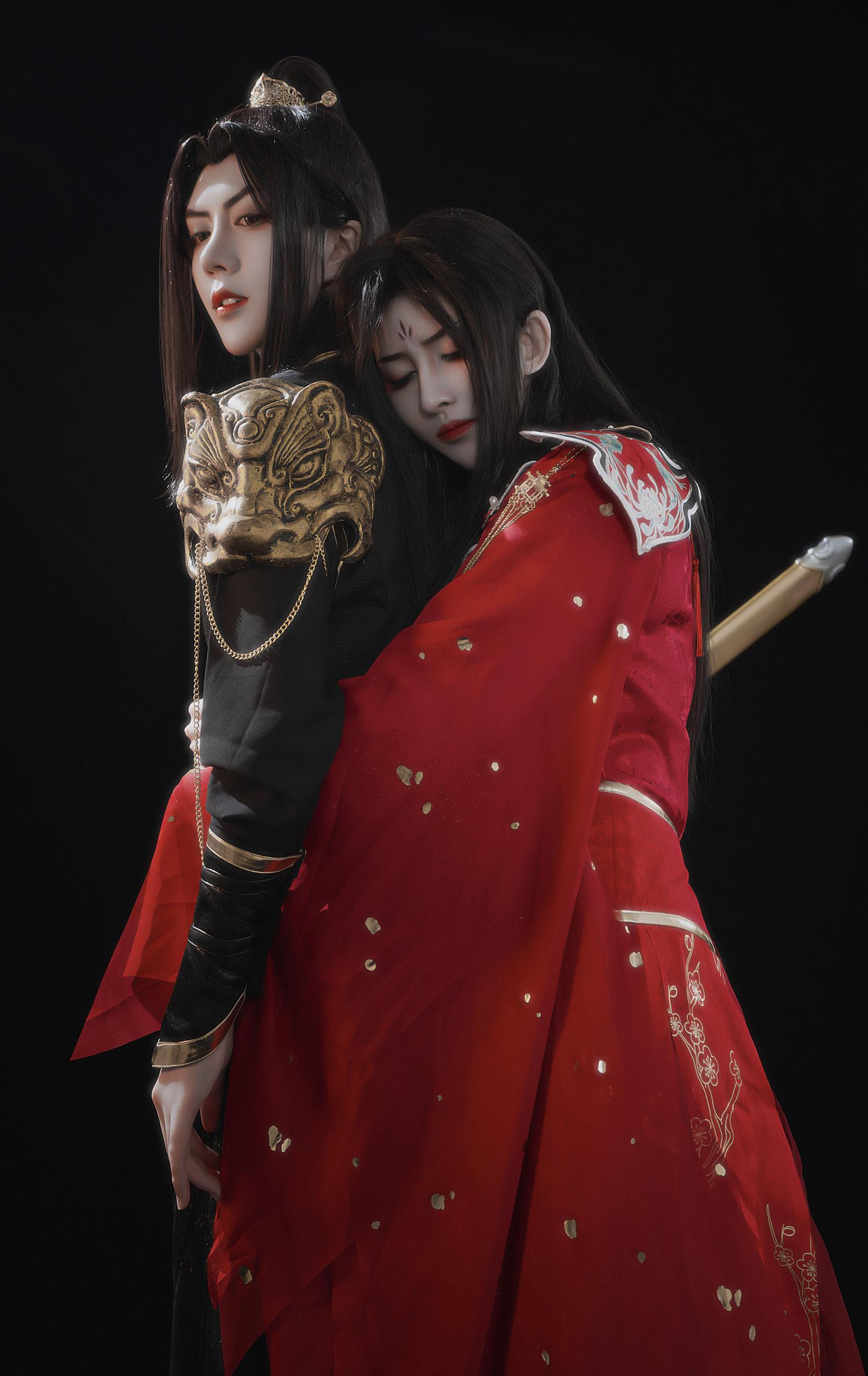 《天官赐福》古风cosplay【CN:胤川Kawa】-第1张