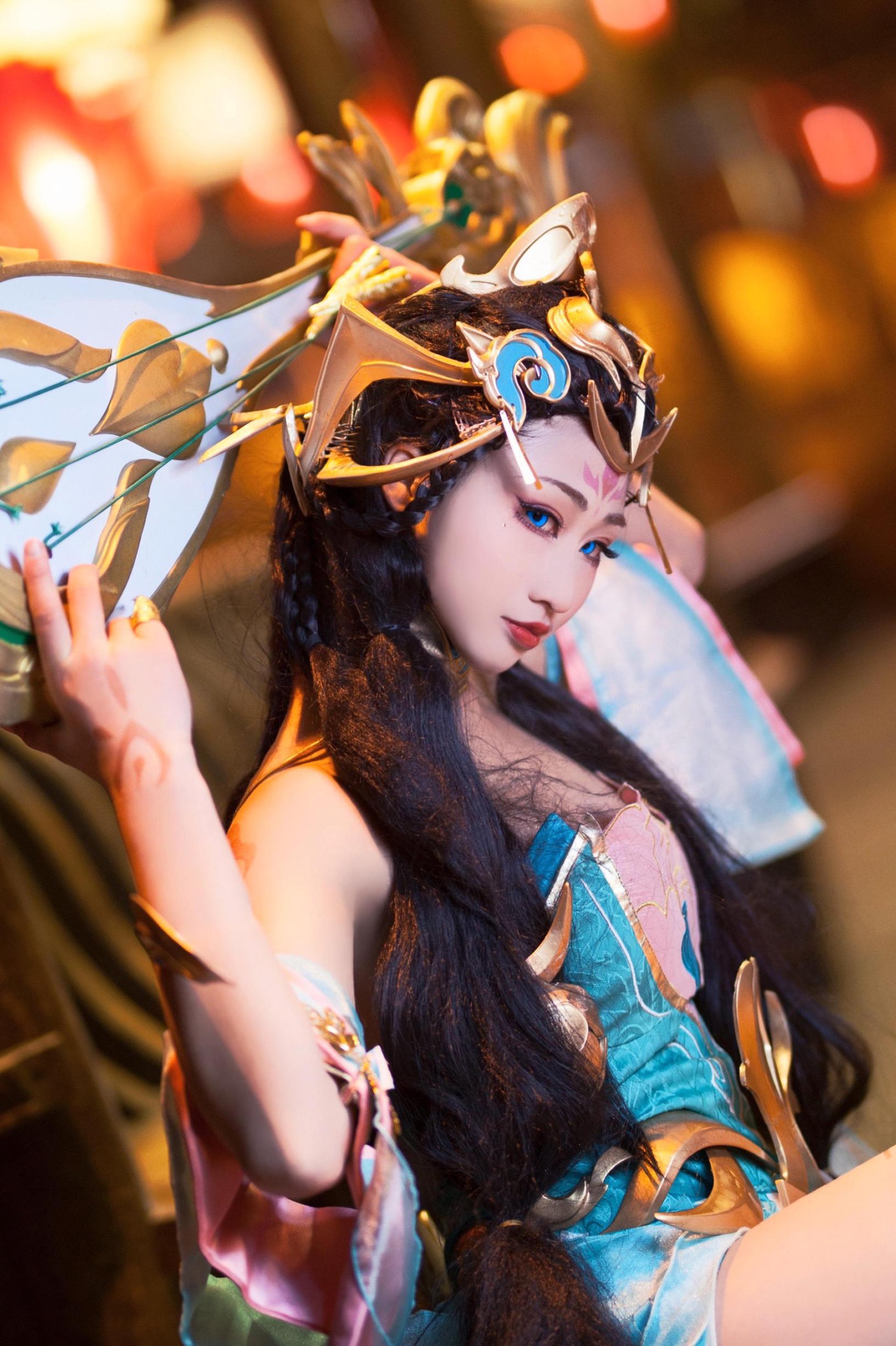 《王者荣耀》杨玉环王者荣耀cosplay【CN:虞清绝】-第1张