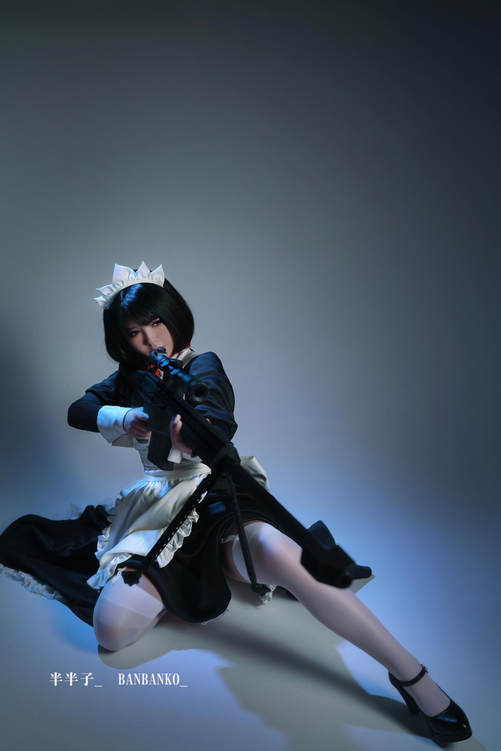 女仆cosplay【CN:半半子】-第5张