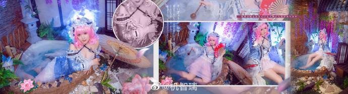 东方project   西行寺幽幽子   @机智璃 (9P)-第1张